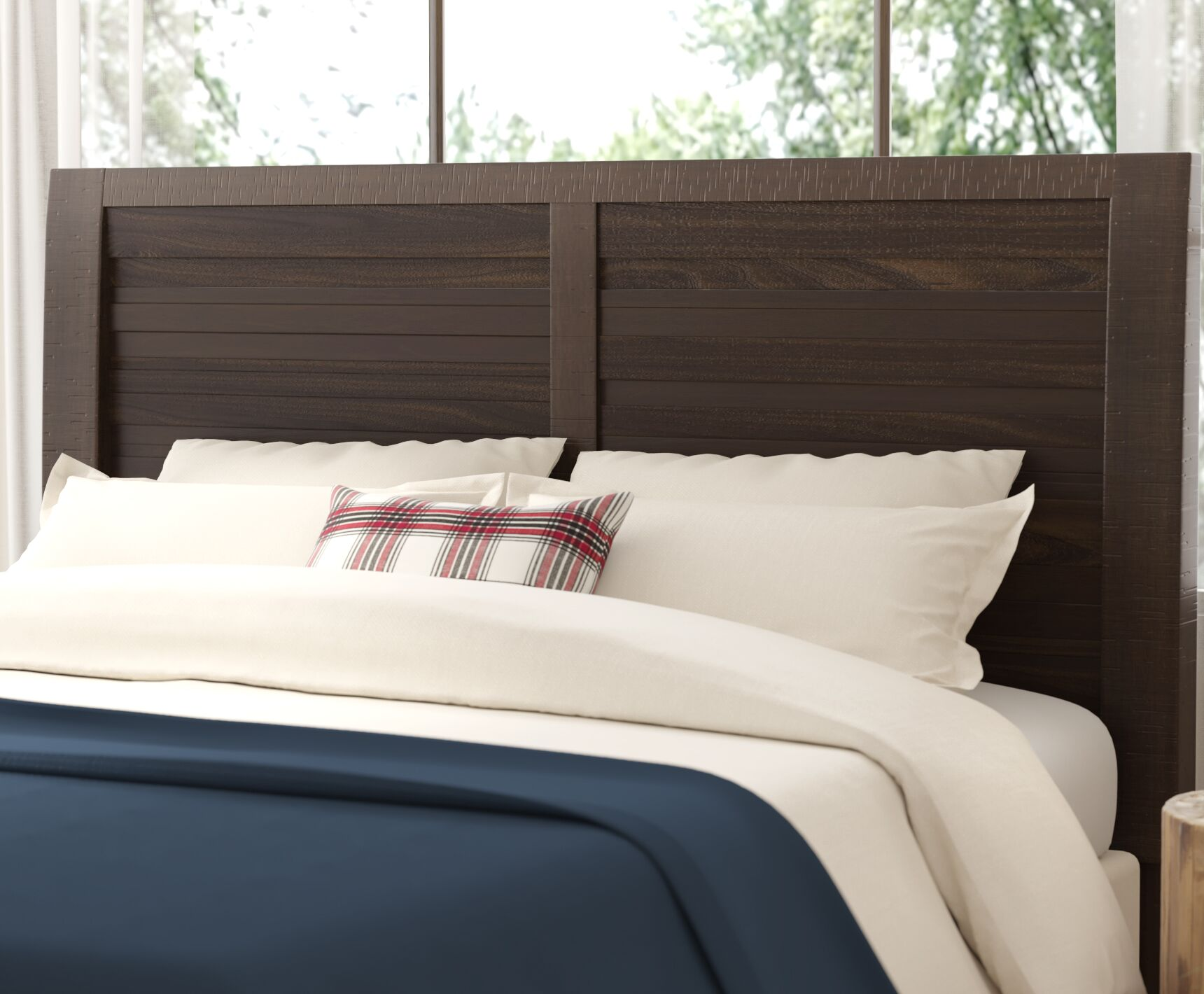 Cruz Panel Headboard Size: Twin