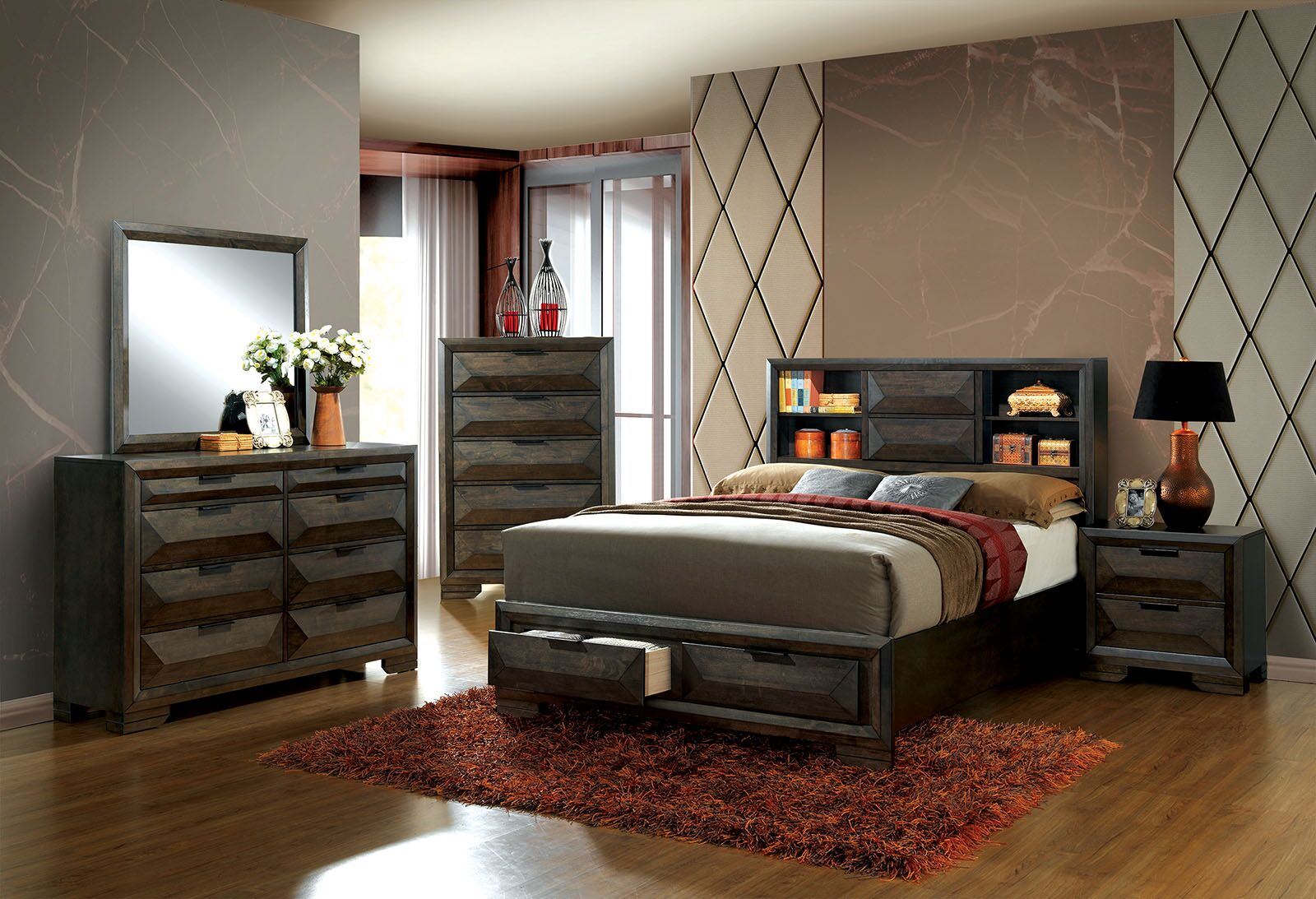 Mitchell Platform Configurable Bedroom Set
