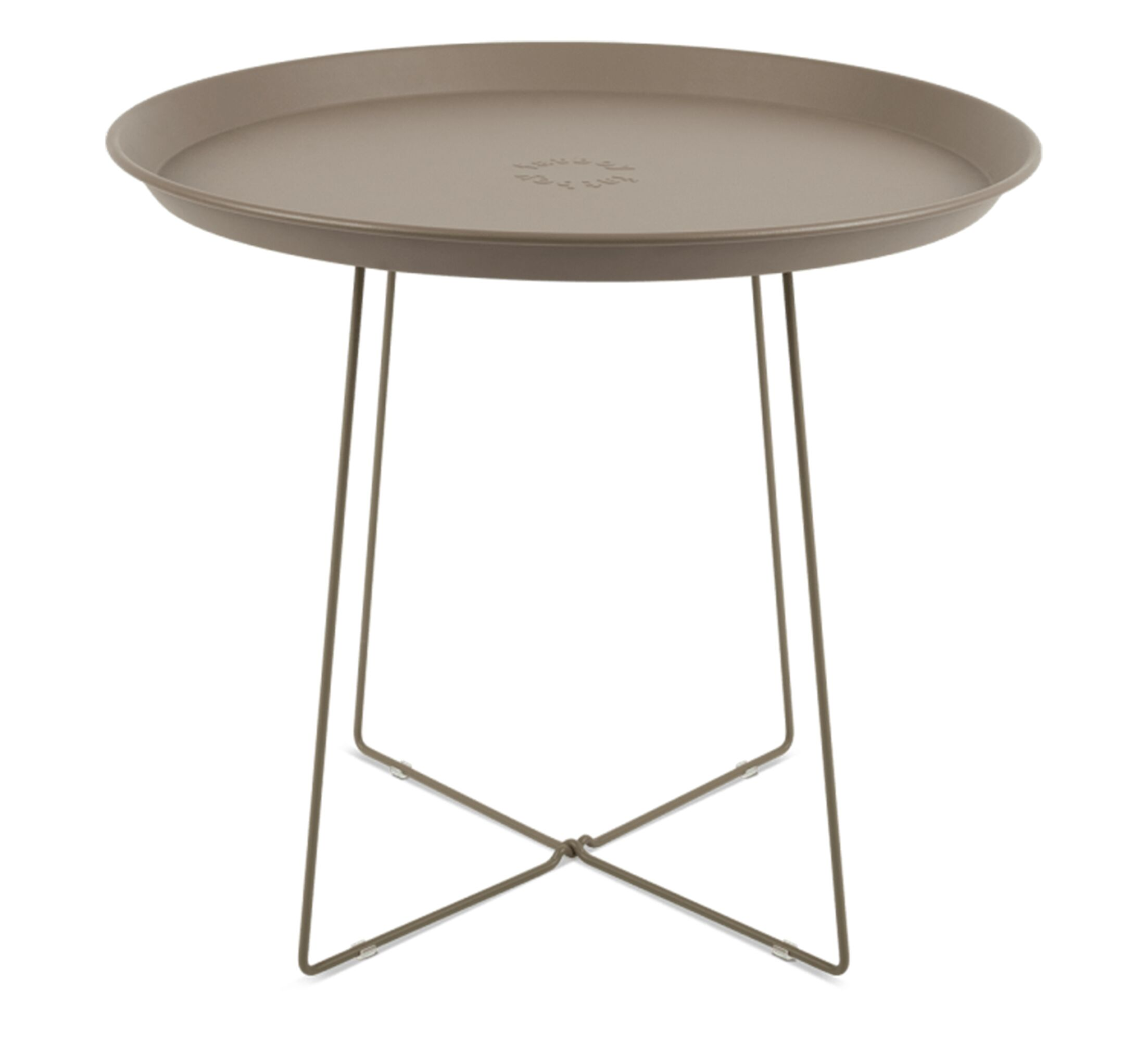 Plat-o Tray Table Color: Taupe