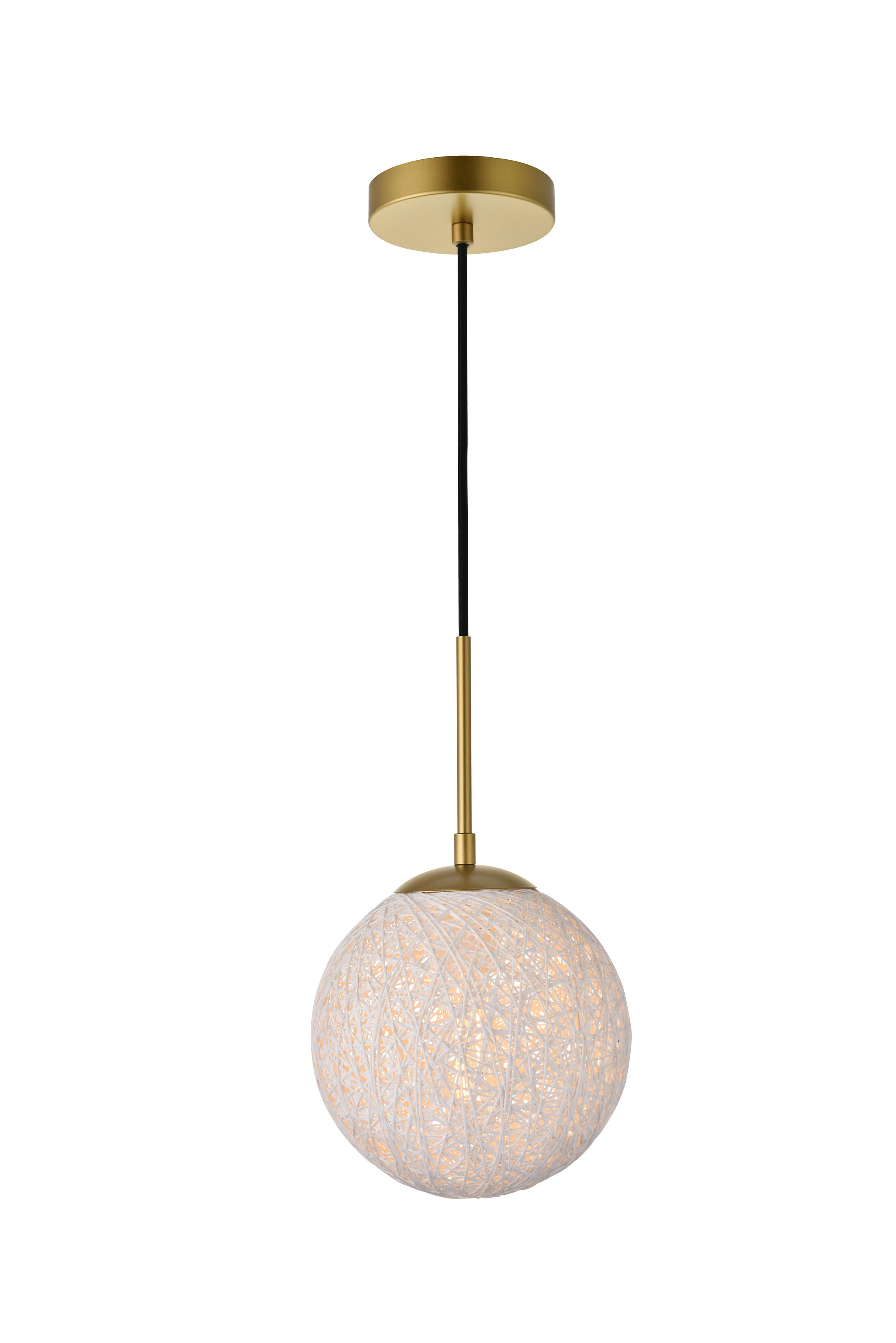 The unique products of this collection exemplify what happens when you take a simple, perfect shape - in this case, a sphere - and transform it into a truly distinctive creation. The dramatic effect is achieved by shaping a round shade made of asymmet...