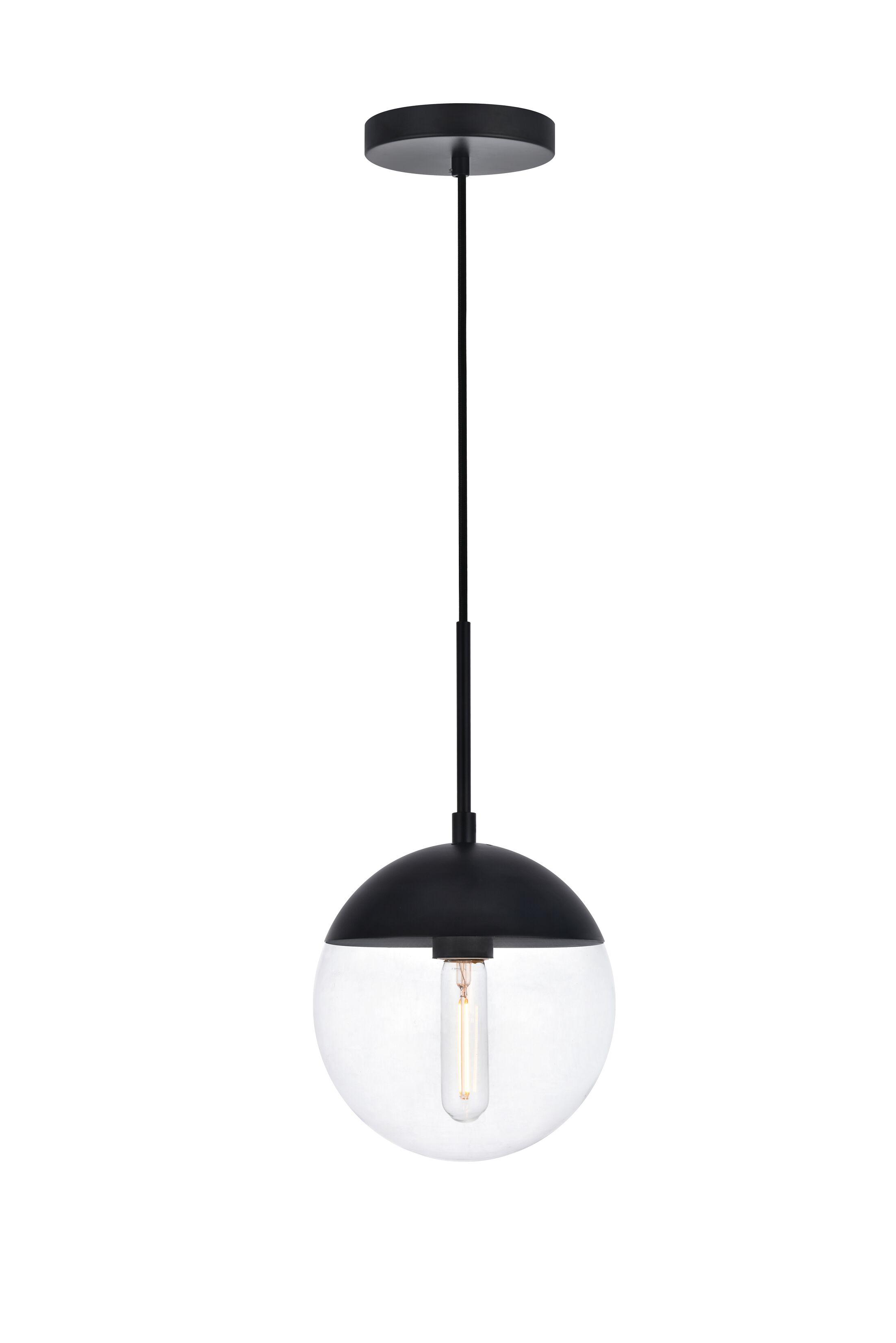 Gilberto 1-Light Globe Pendant Size: 9