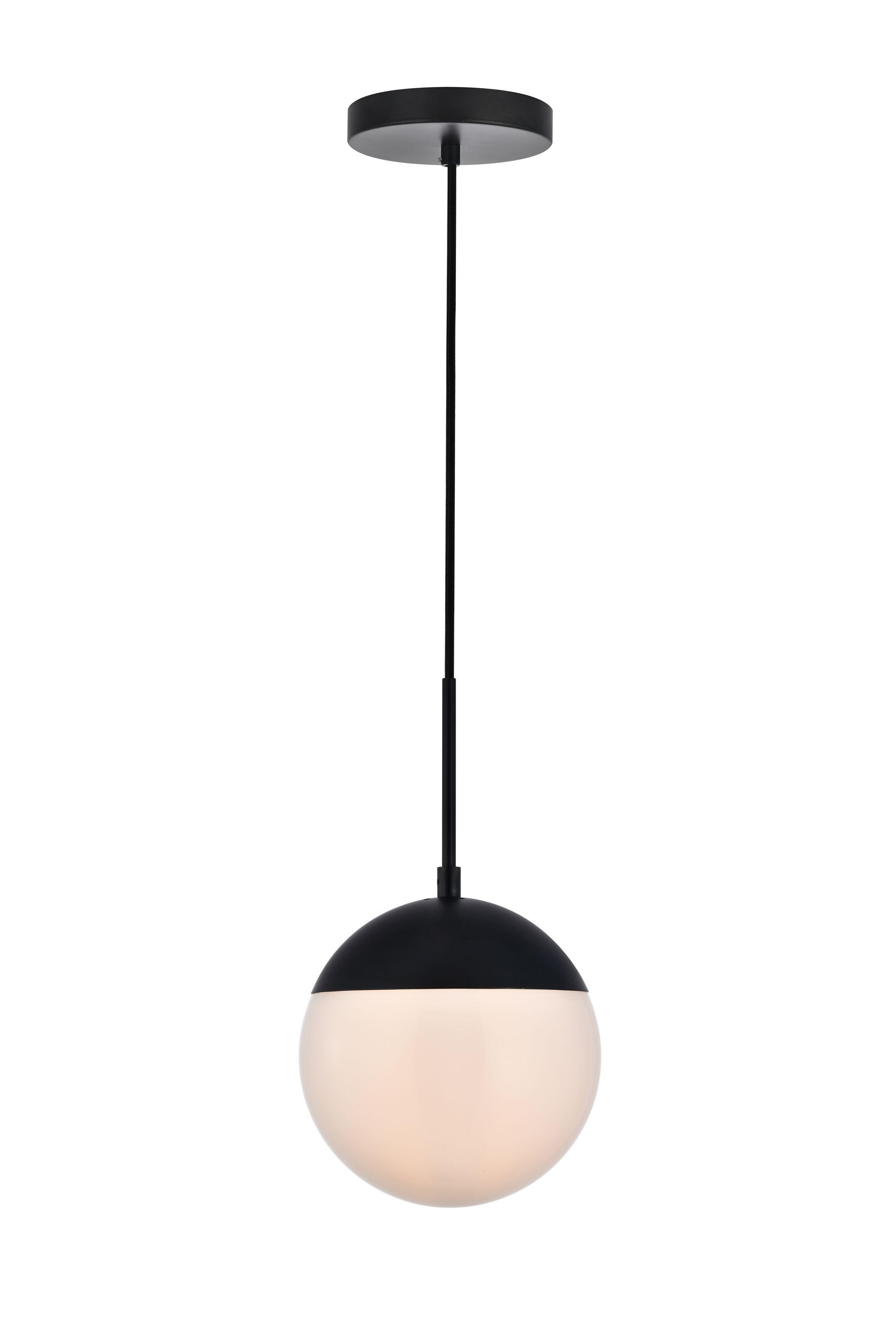 Gilberto 1-Light Globe Pendant Size: 13