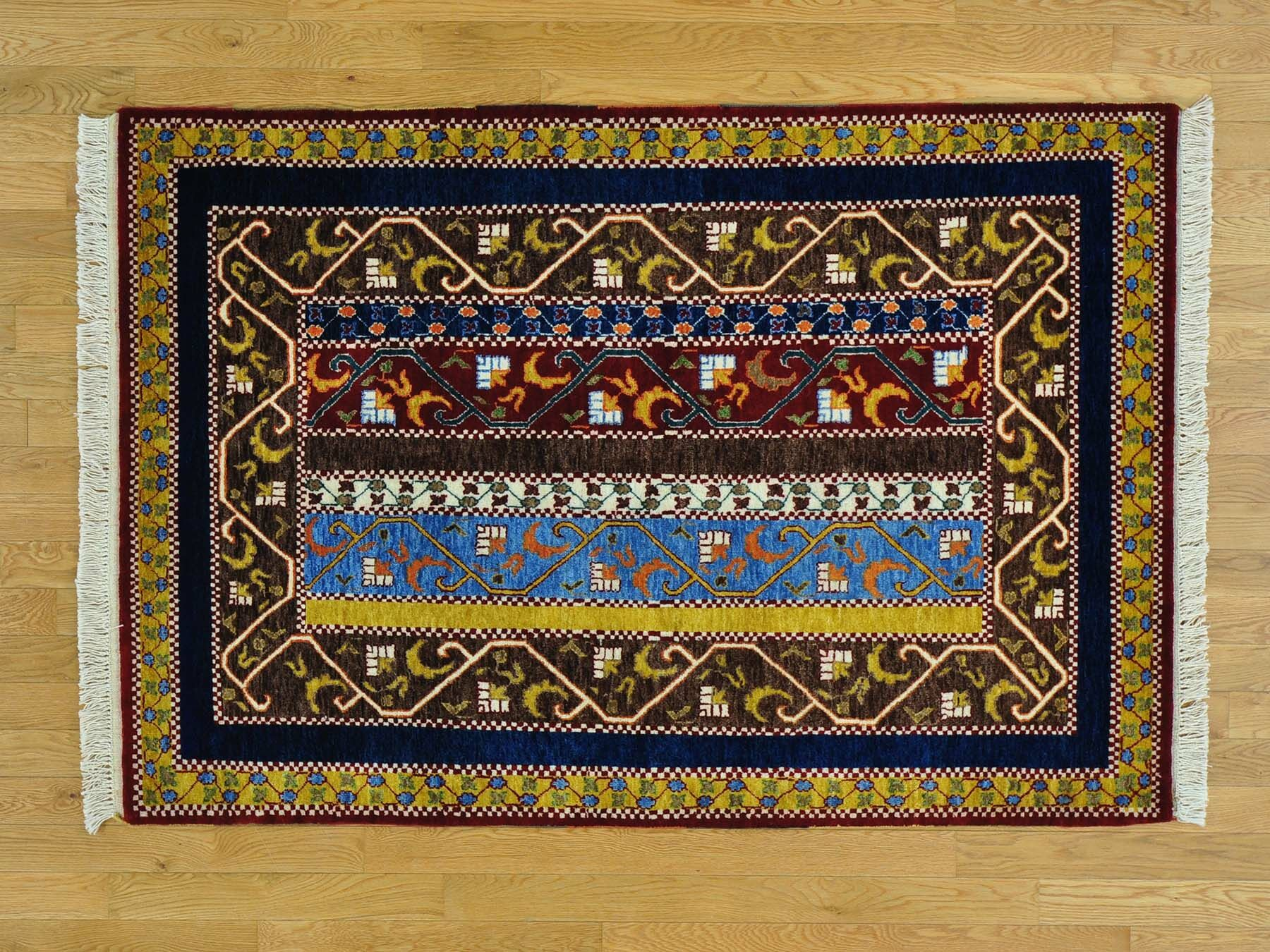 One-of-a-Kind Ciotti Paisley Shawl Design Hand-Knotted Wool Area Rug