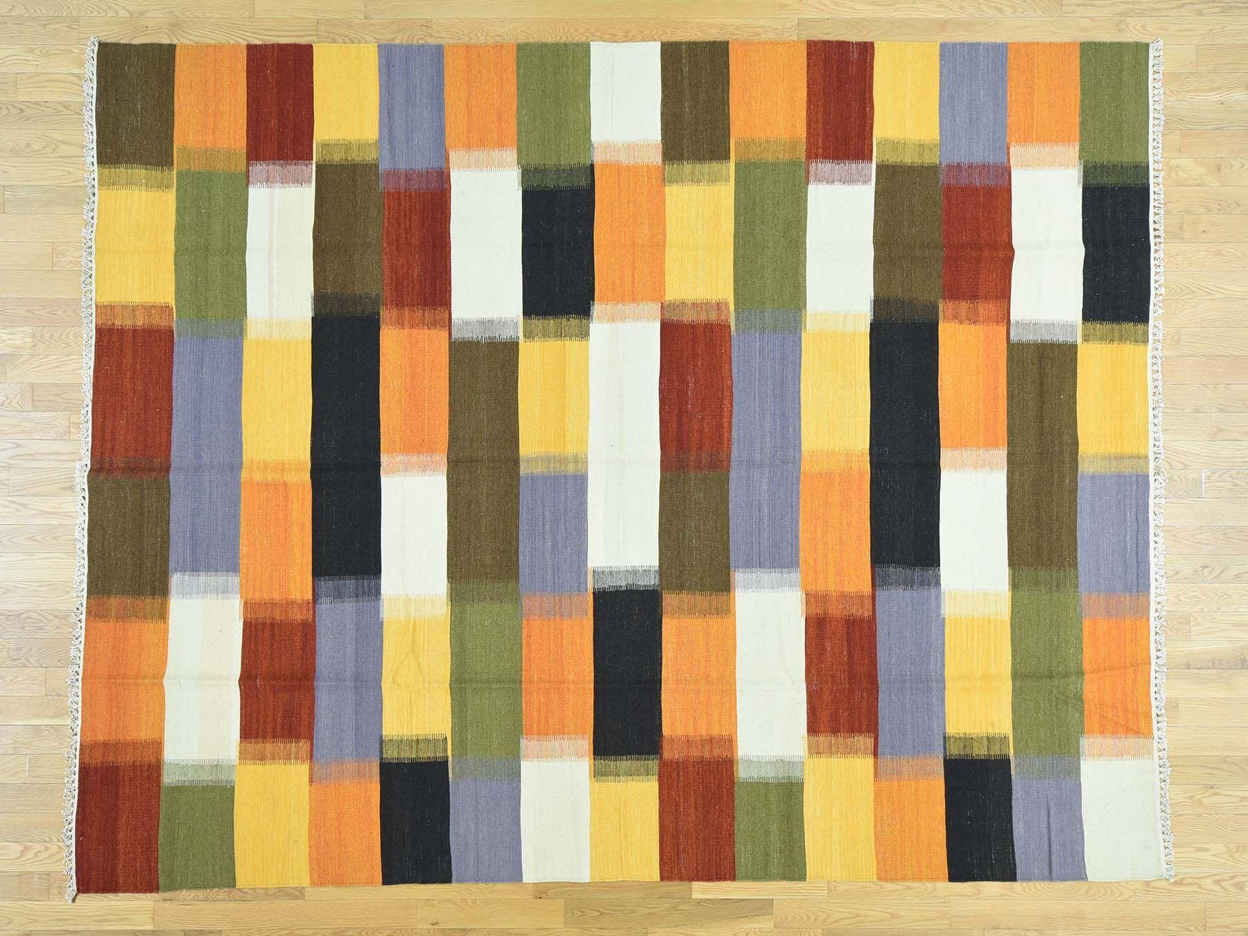 One-of-a-Kind Beeler Handmade Kilim Wool Area Rug