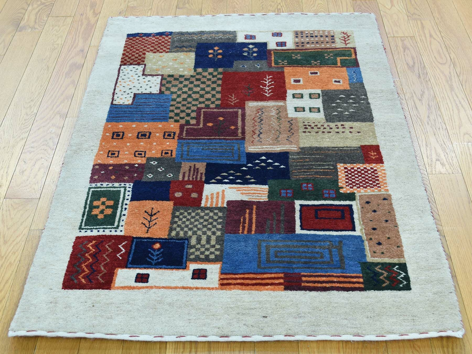 One-of-a-Kind Becker Lori Buft Handwoven Wool Area Rug