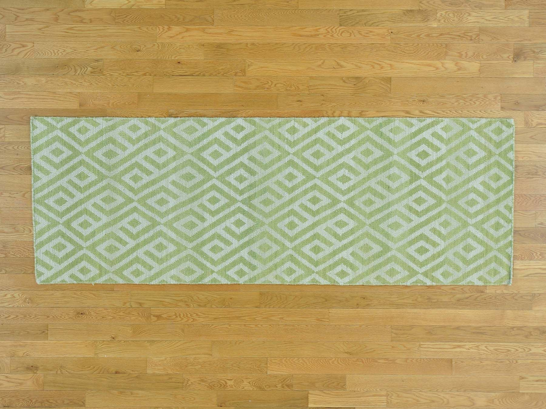 One-of-a-Kind Braiden Killim Reversible Handwoven Wool Area Rug