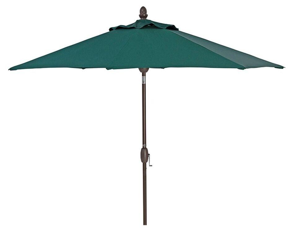 Liya Patio 9' Market Umbrella Fabric Color: Green
