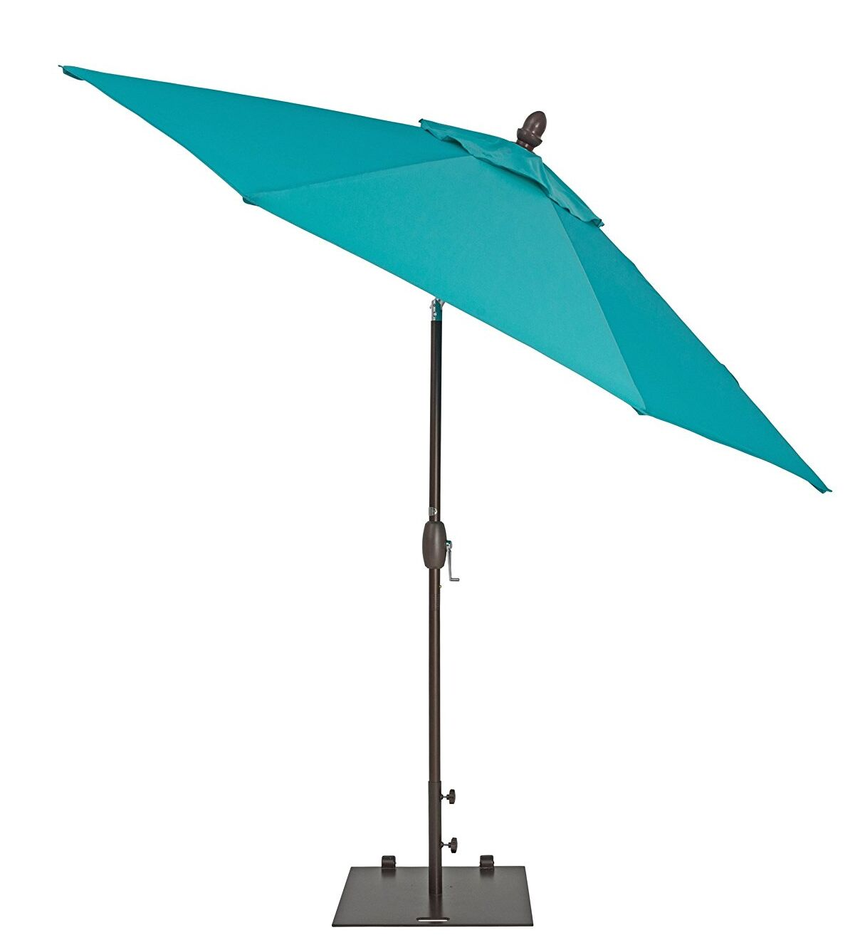 Venus Patio 11' Market Umbrella Fabric Color: Blue
