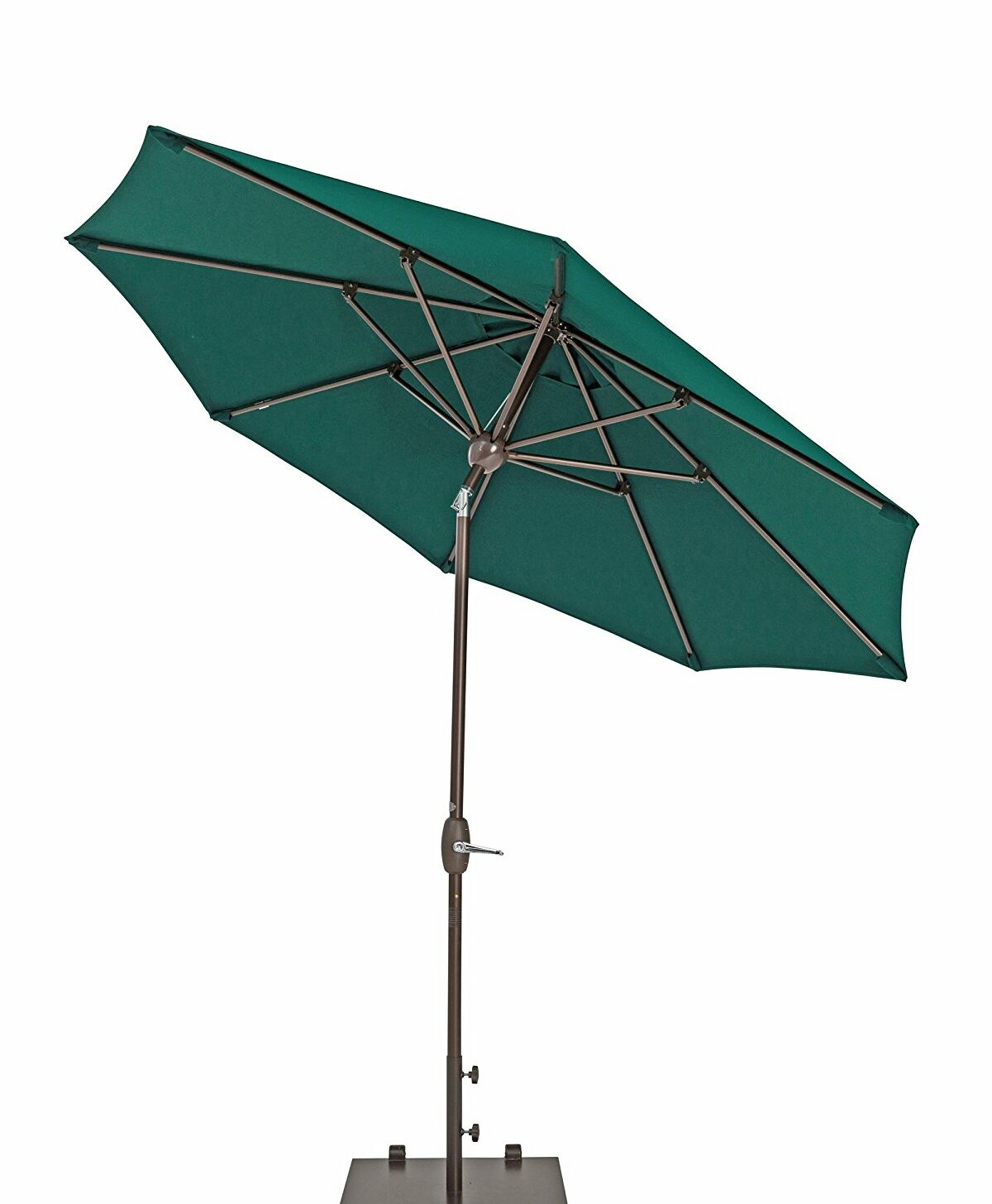 Venus Patio 11' Market Umbrella Fabric Color: Green