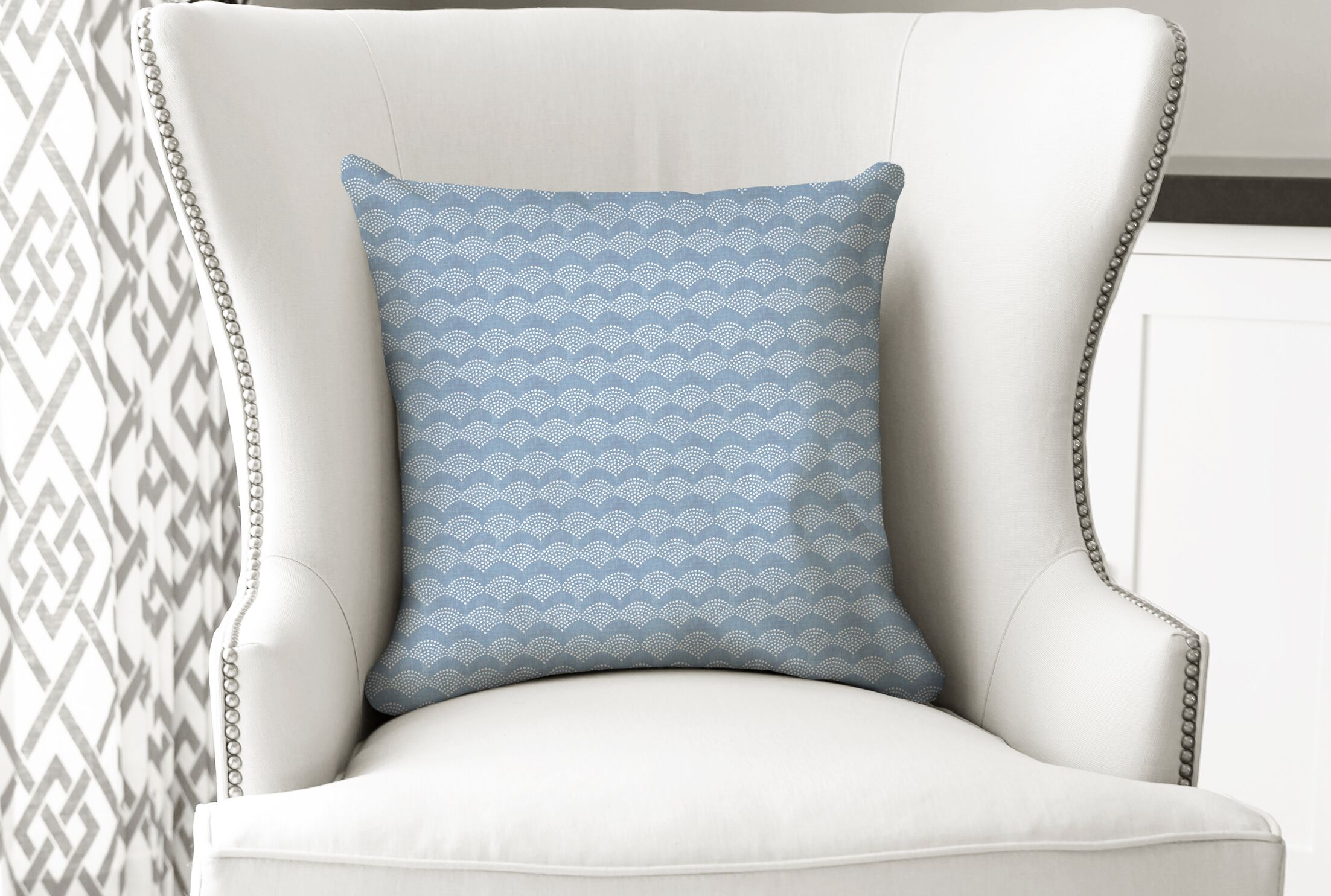 Abrams Arches Accent Pillow Size: 24