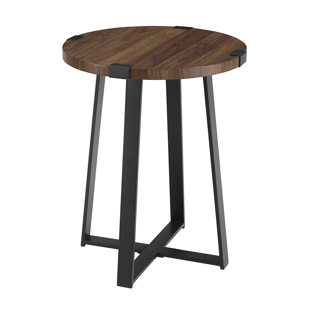 Bowen Side Table Color: Dark Walnut