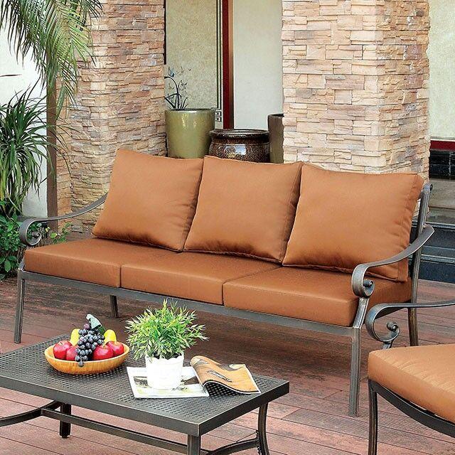 Villalobos Patio Sofa with Cushions
