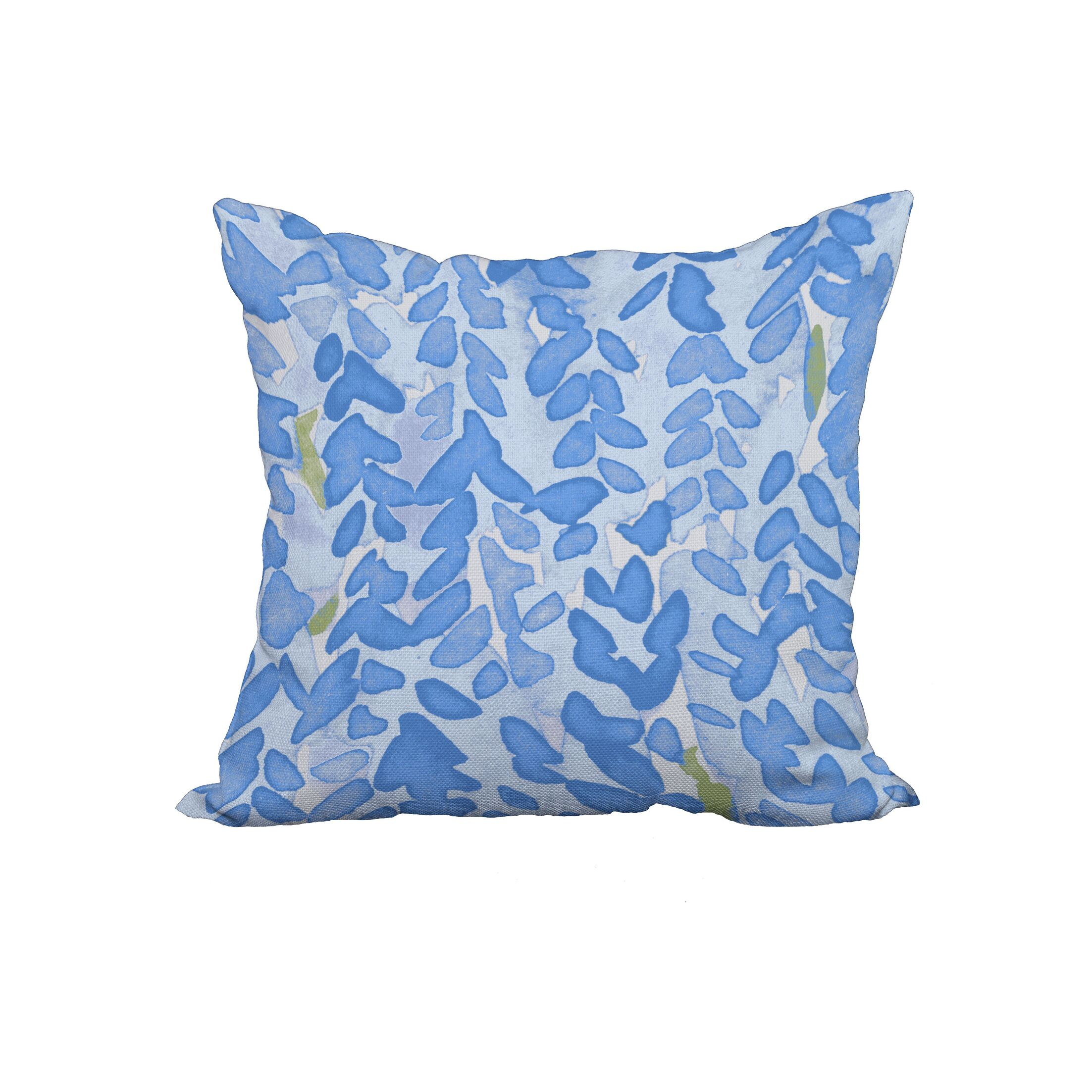 Marcial Floral Print Throw Pillow Size: 22
