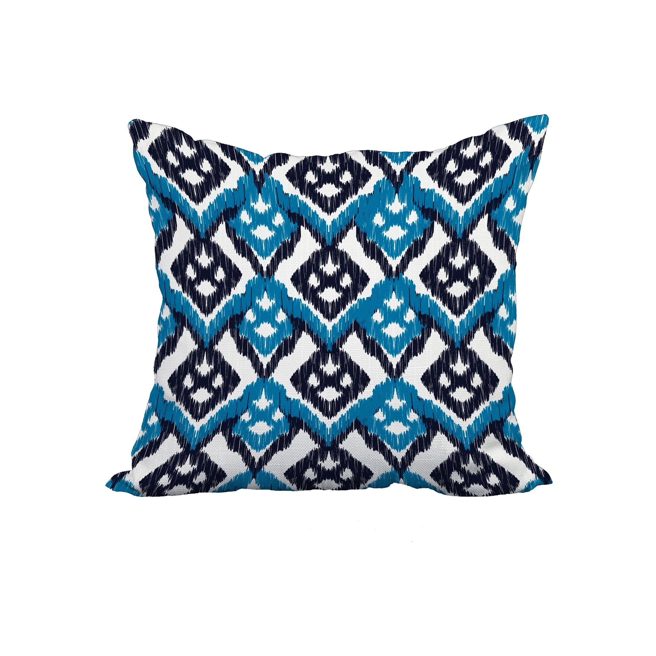 Galindo Print Throw Pillow Size: 20
