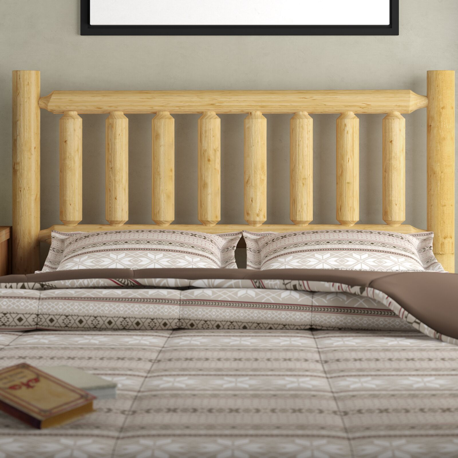 Mirren Slat Headboard Color: Unfinished, Size: Twin