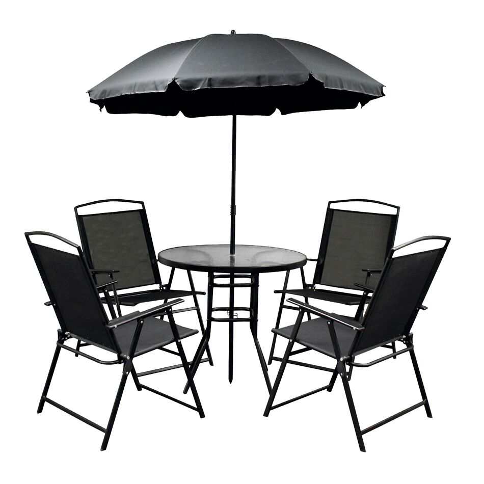 Stark Rustproof 6 Piece Dining Set