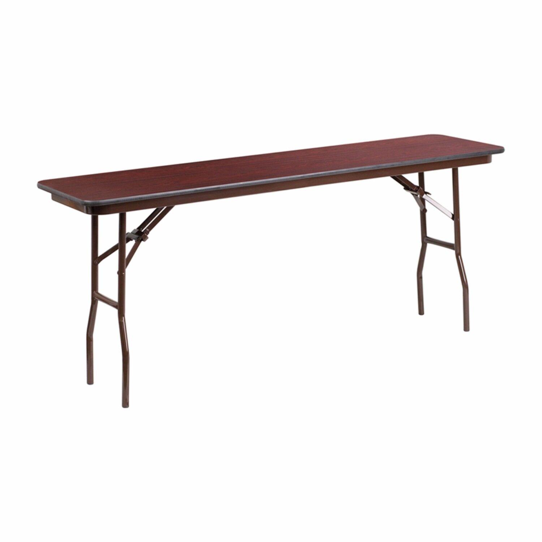 Aoife Rectangular Folding Training Table Size: 30