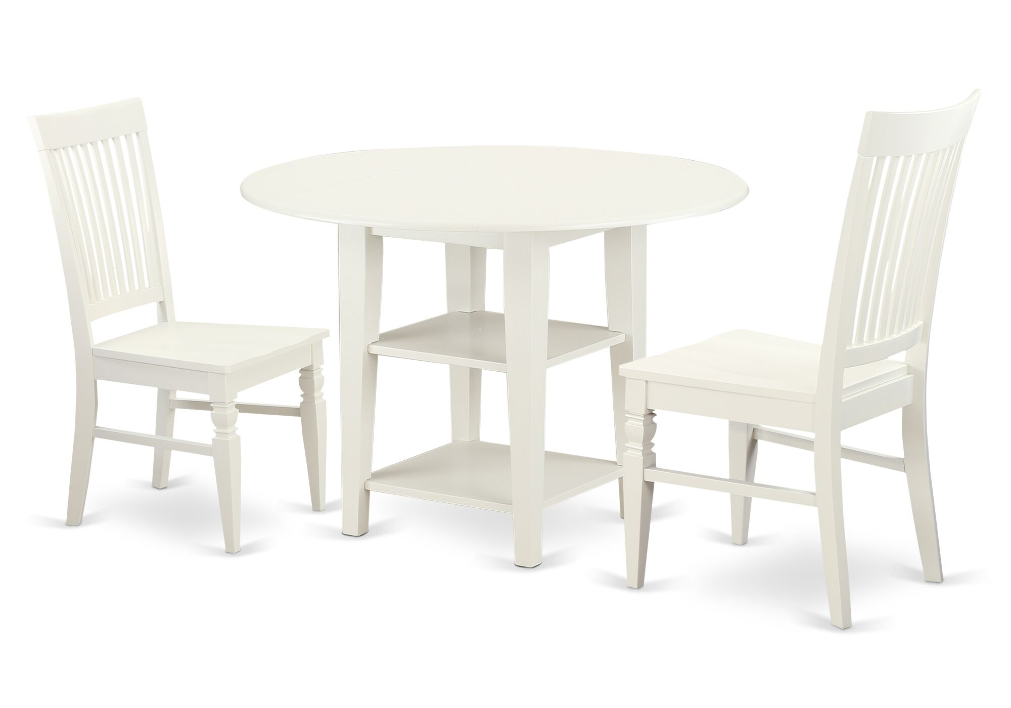 Dining Table Sets Tyshawn 3 Piece Drop Leaf Breakfast Nook Solid Wood Dining Set