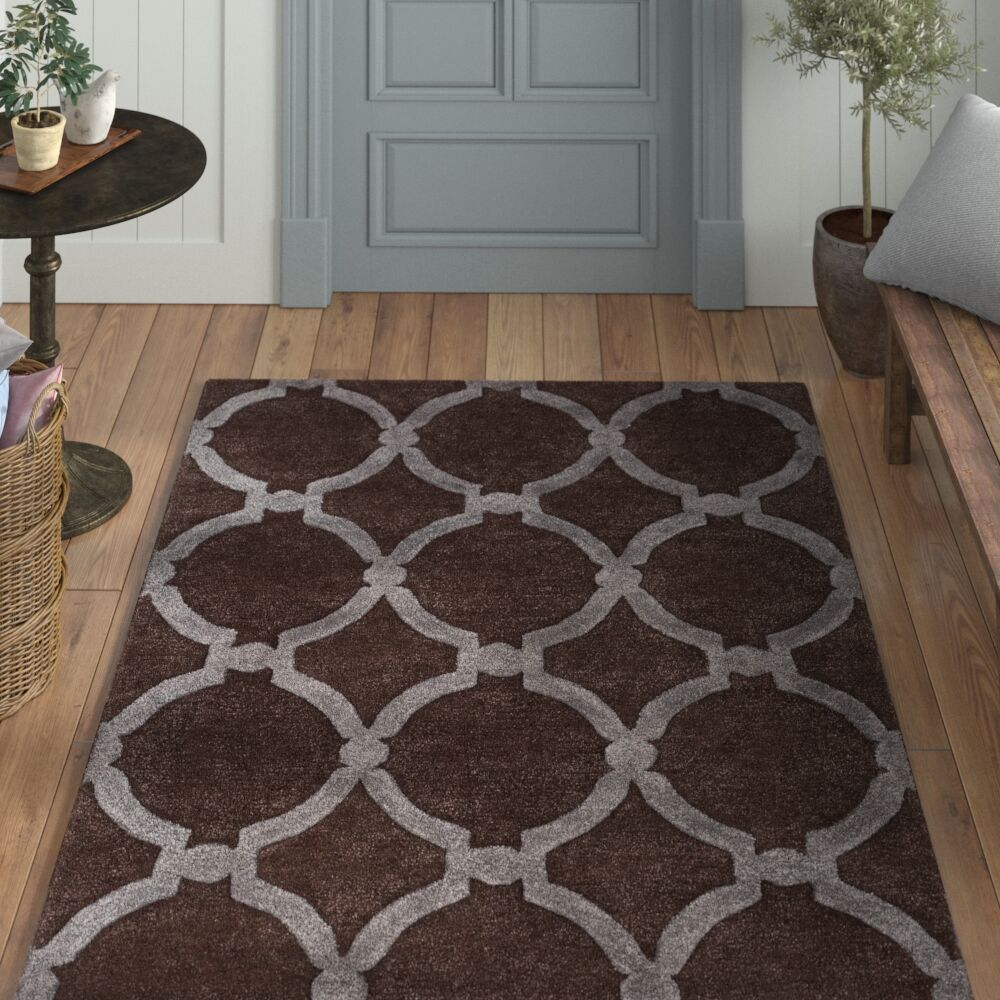 Labastide Hand-Tufted Brown Area Rug Rug Size: Runner 2'3