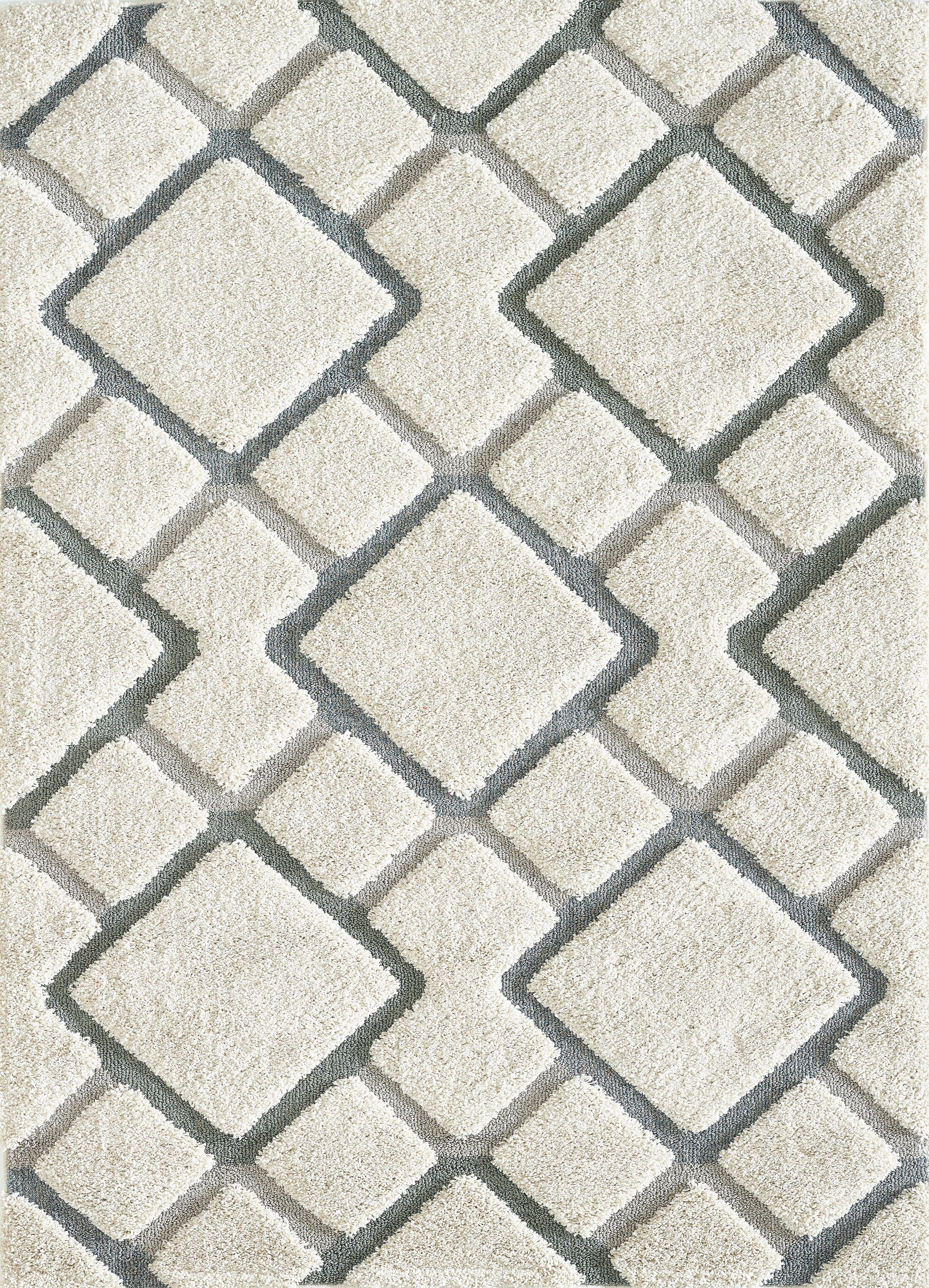 Cope Sandstone Gray Area Rug Rug Size: Rectangle 5'3