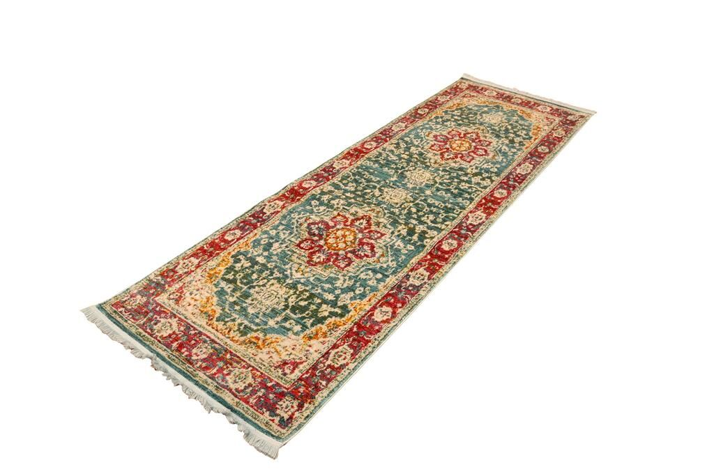 Hare Green Area Rug Rug Size: Runner 3' x 8'