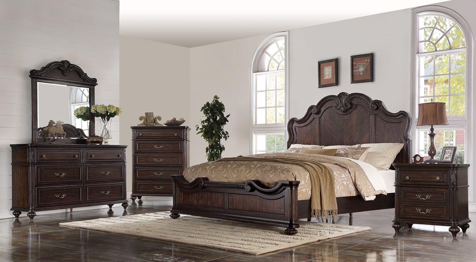 Michaud Panel Configurable Bedroom Set