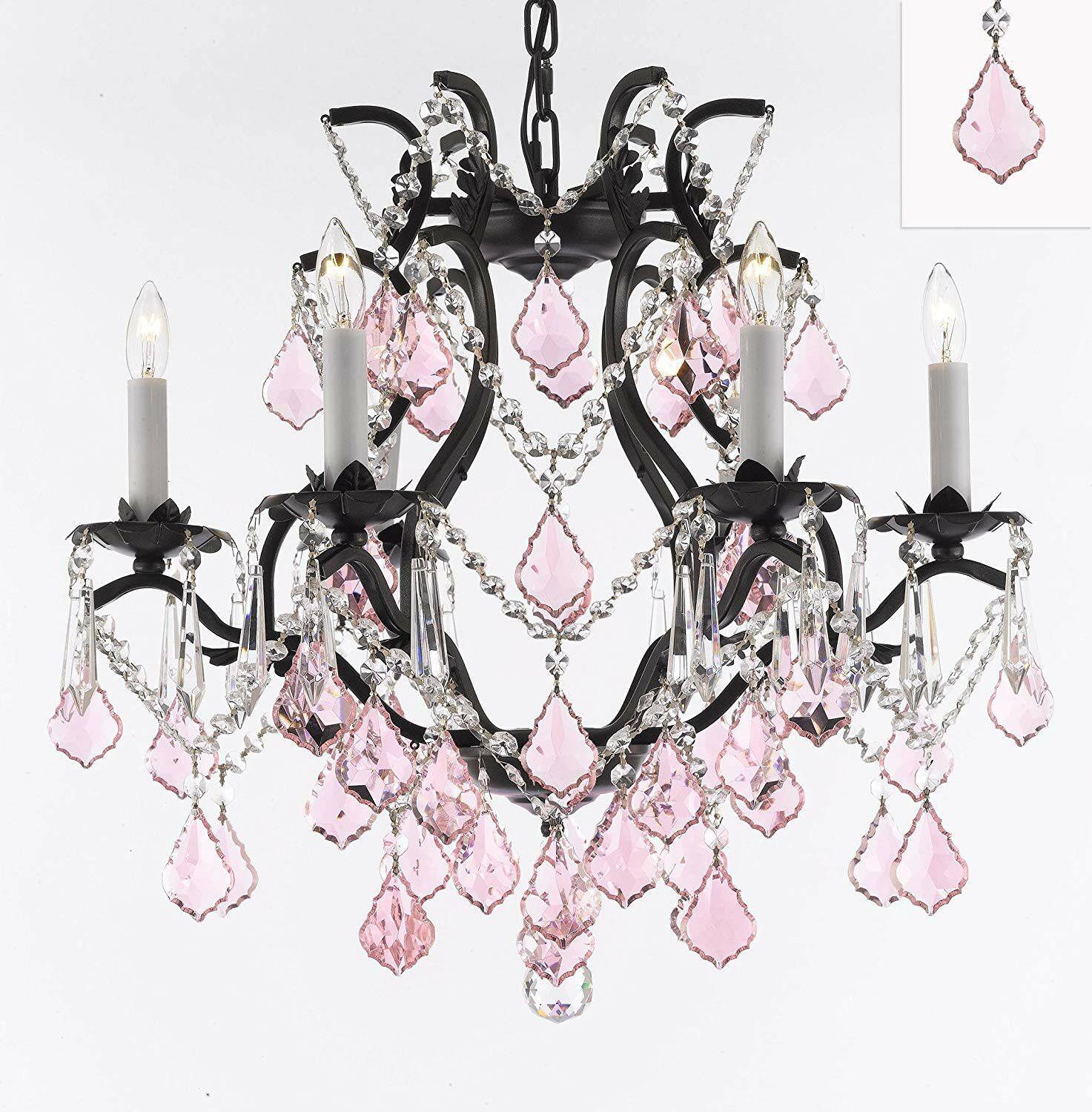 Katherin 6-Light Crystal Chandelier