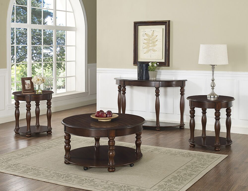 Estefania Occasional 3 Piece Coffee Table Set