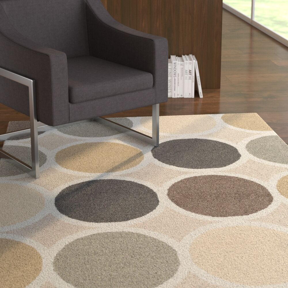 Moylan Hand-Tufted Multi Area Rug Rug Size: Rectangle 5' x 8'