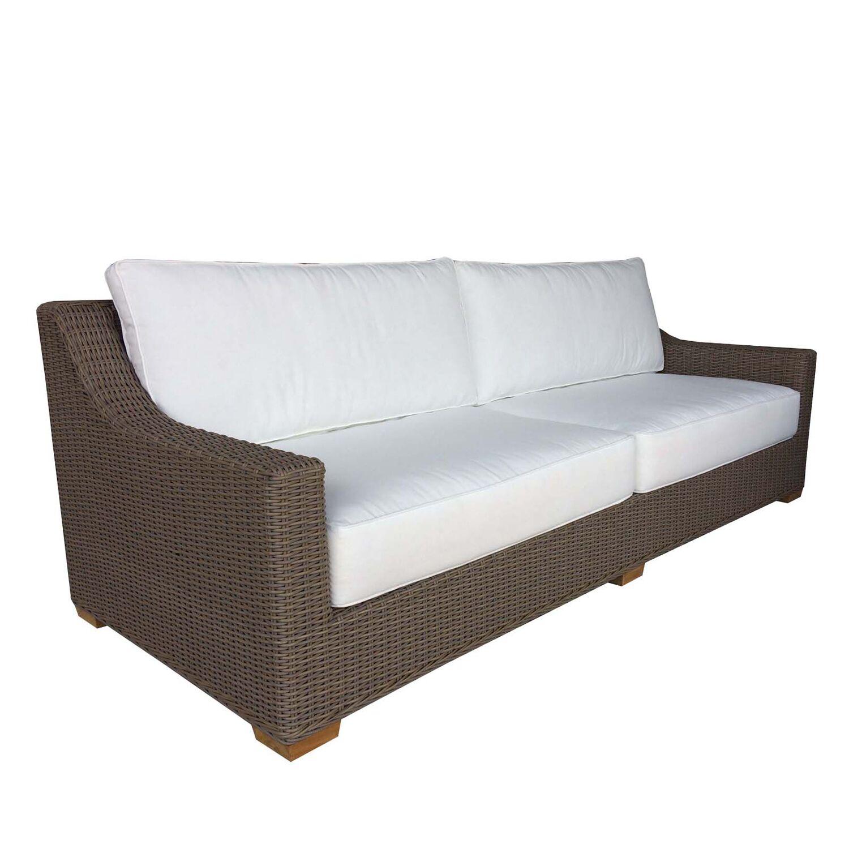 Hobson Patio Sofa with Sunbrella Cushions