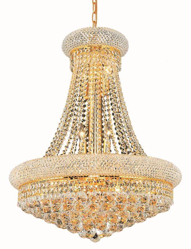 Jessenia 14-Light Crystal Chandelier Size: 76
