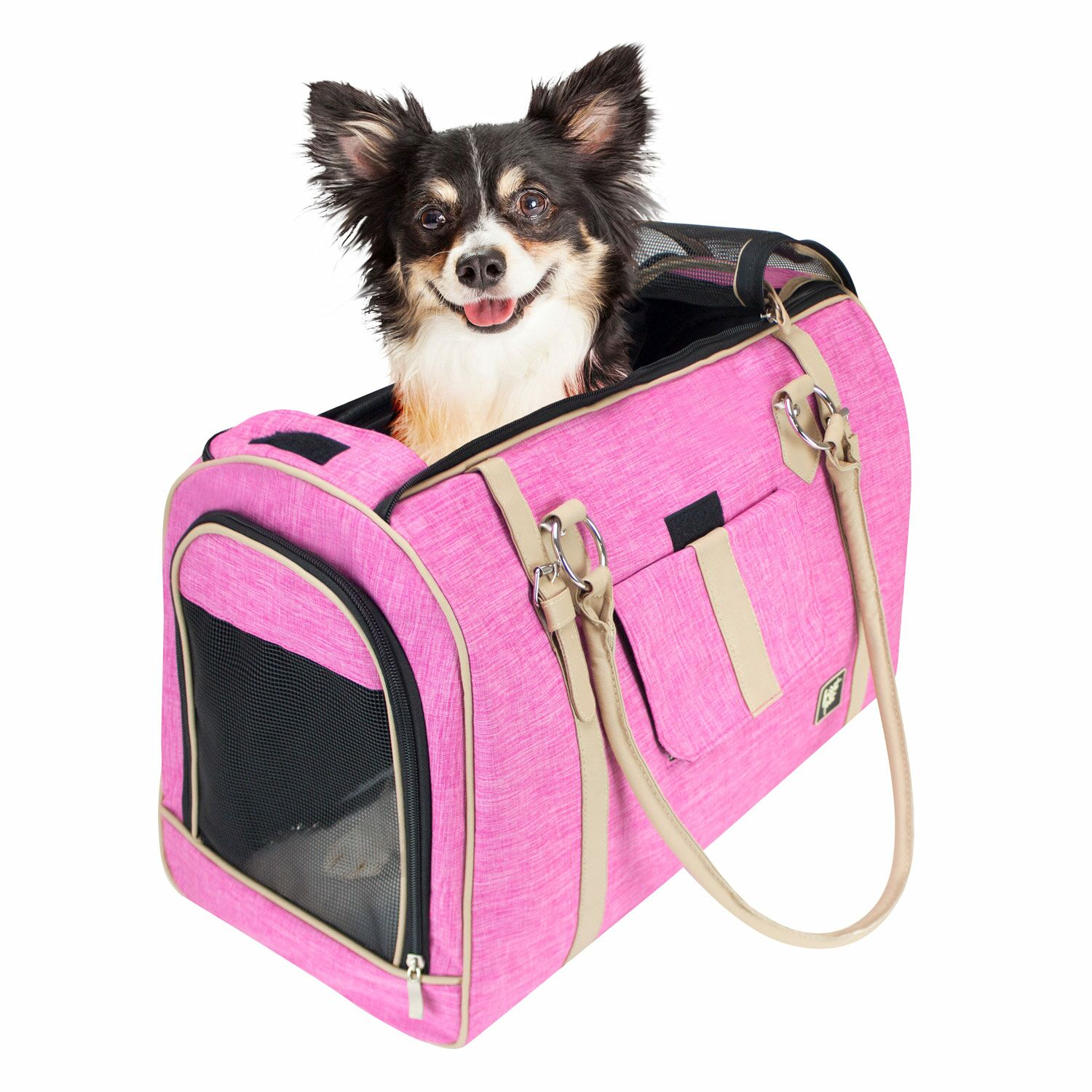 Heyman Soft Airline Approved Stylish Pet Carrier Size: 13