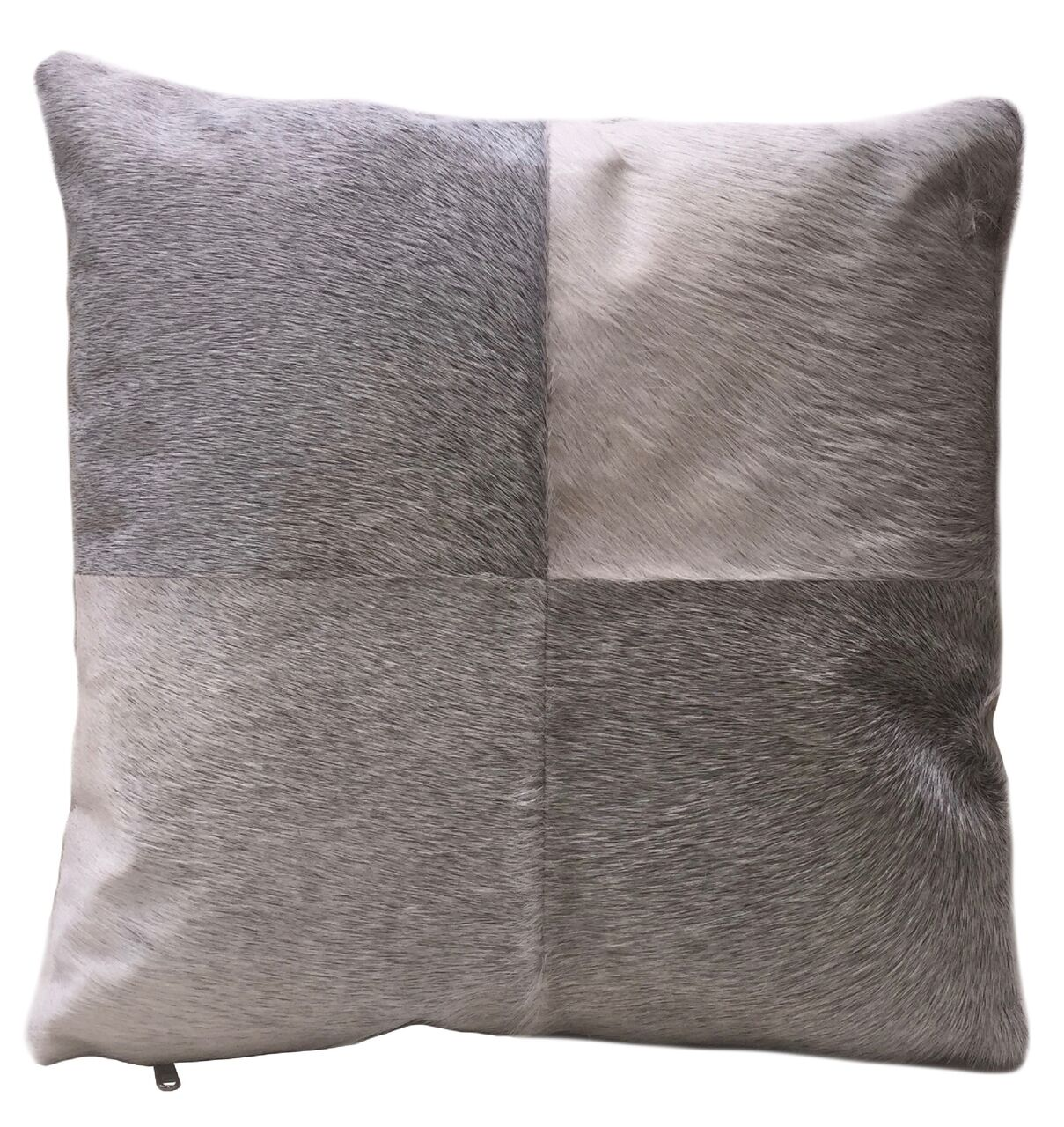 Jett Double Sided Leather Throw Pillow