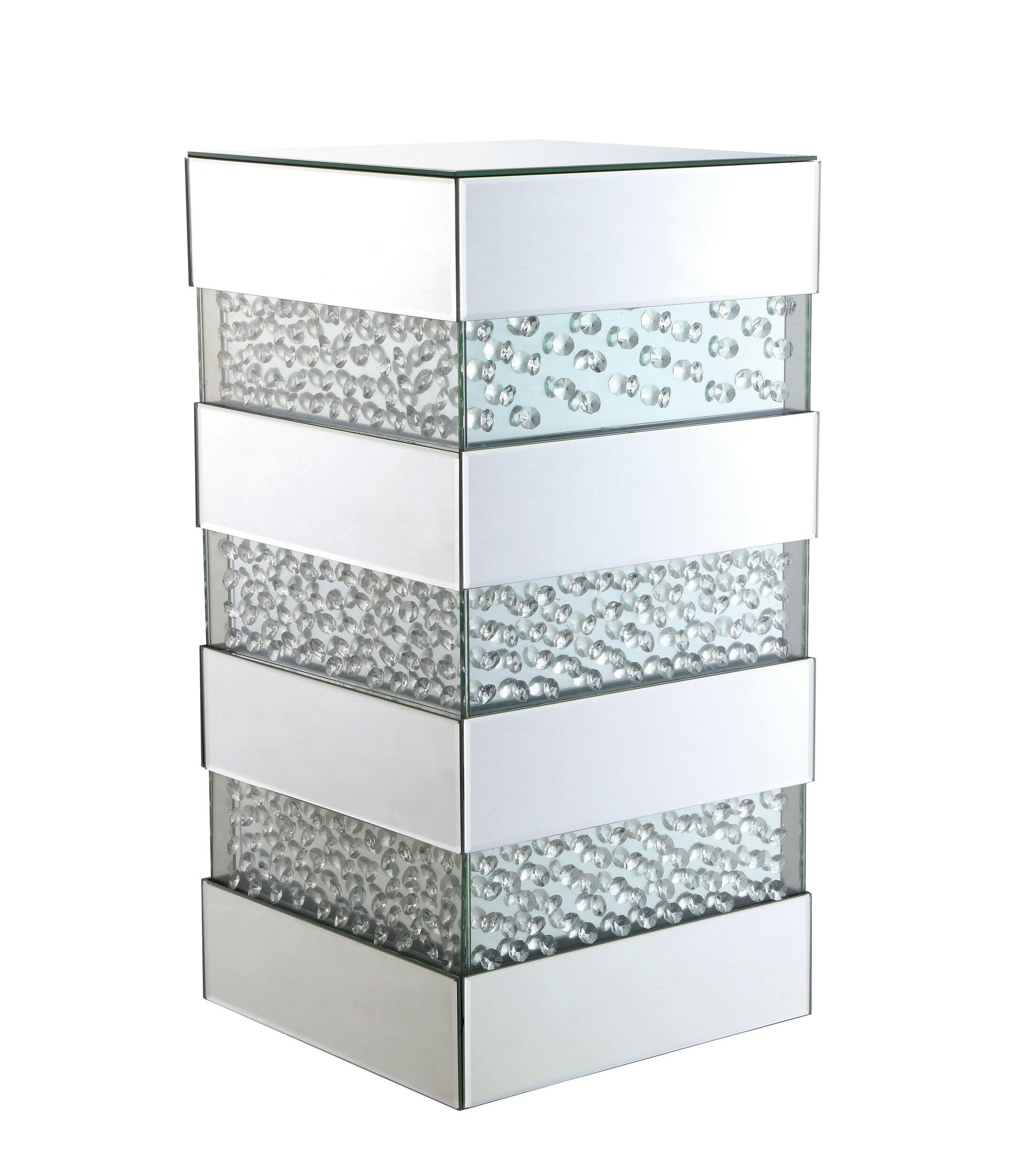 Melina Crystal End Table