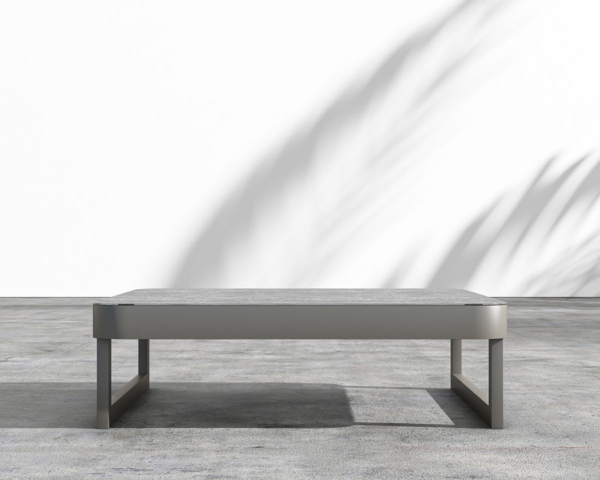 Coffman Aluminum Coffee Table