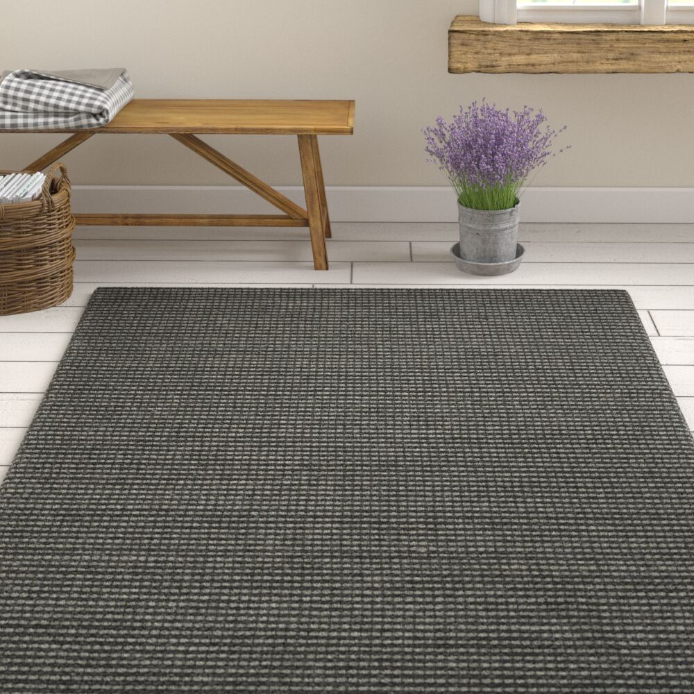 Steffen Hand Tufted Gray Area Rug  Rug Size: Square 6'