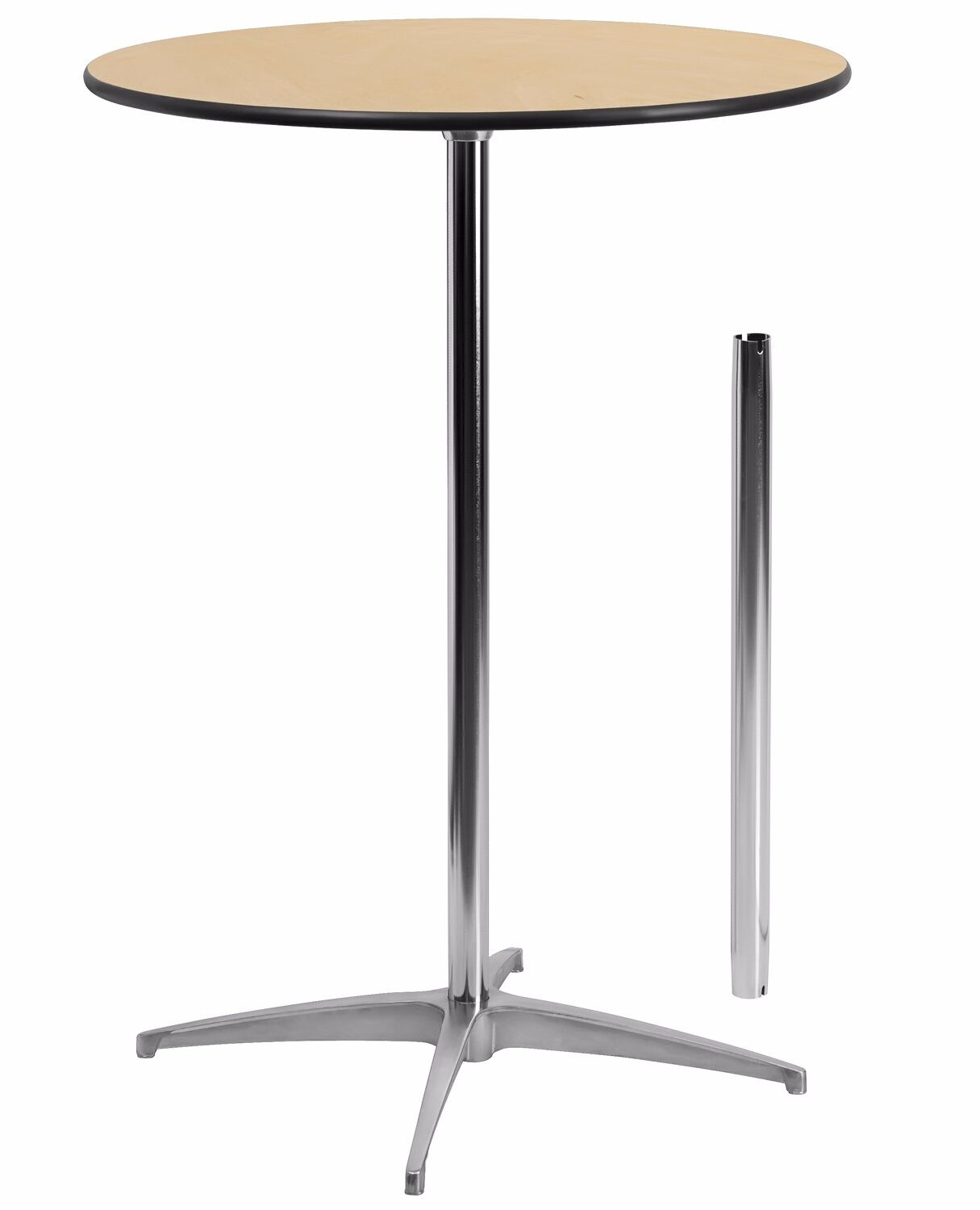 Finnegan Round Wood Cocktail Table Size: 42