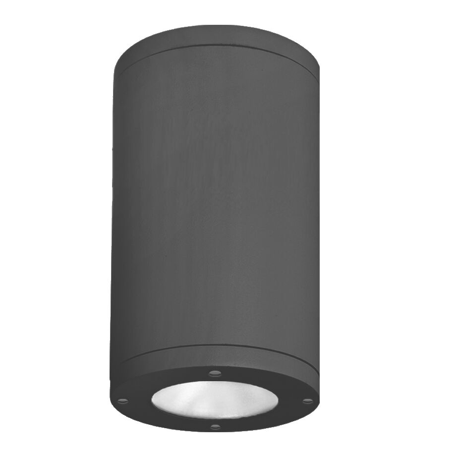 Janice 1-Light LED Flush Mount Fixture Finish: Black, Lens Degree: Spot