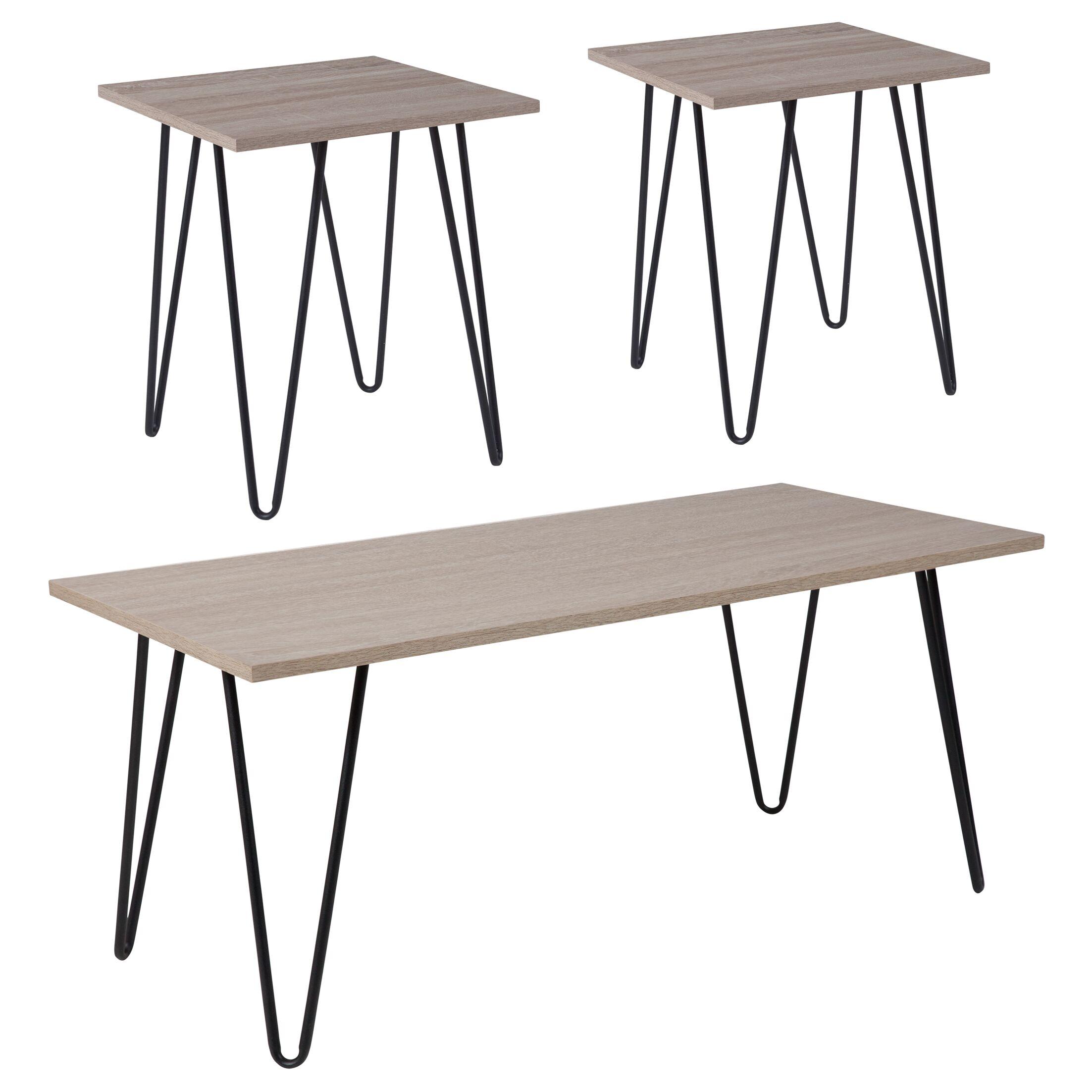 Logston 3 Piece Coffee Table Set