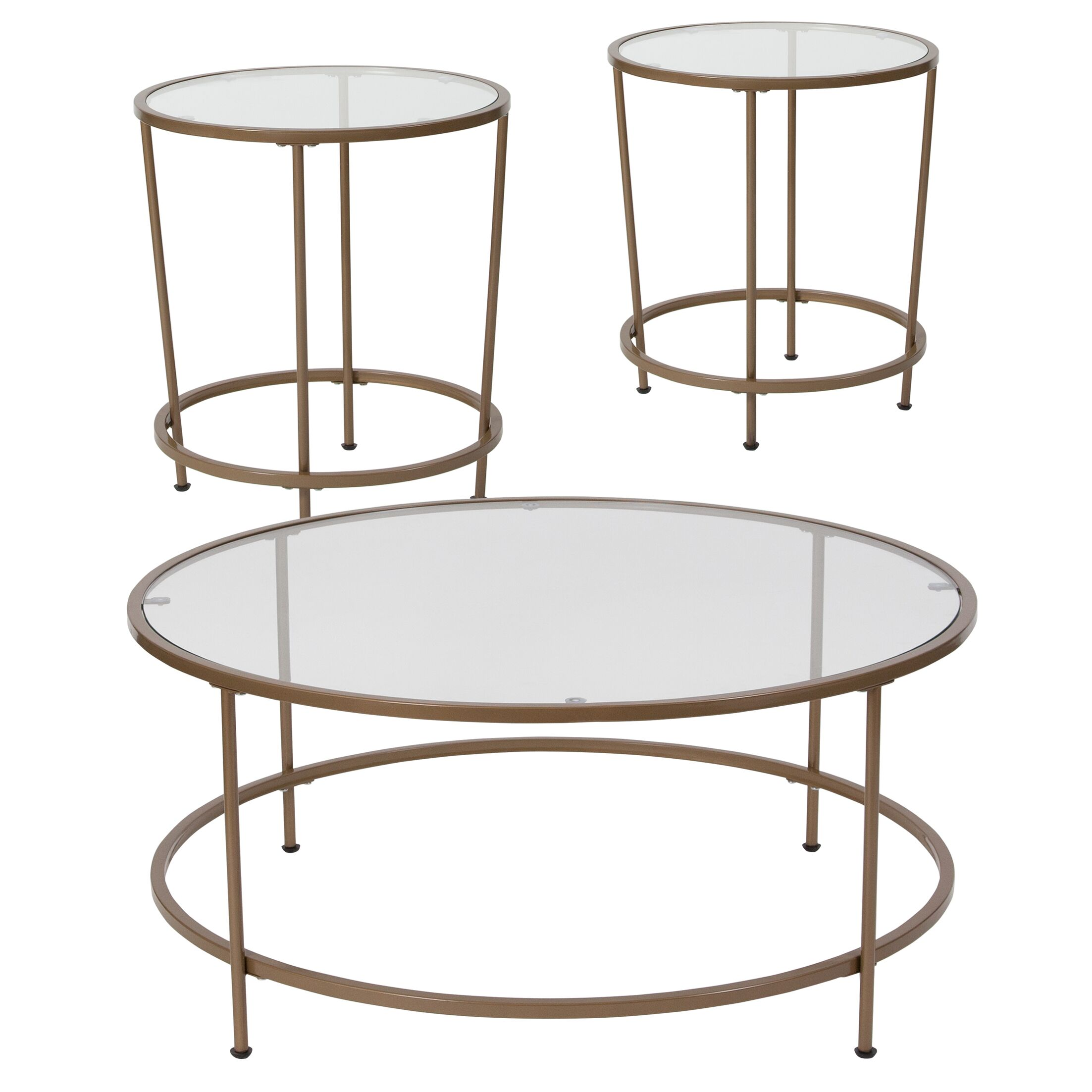 Otis 3 Piece Coffee Table Set