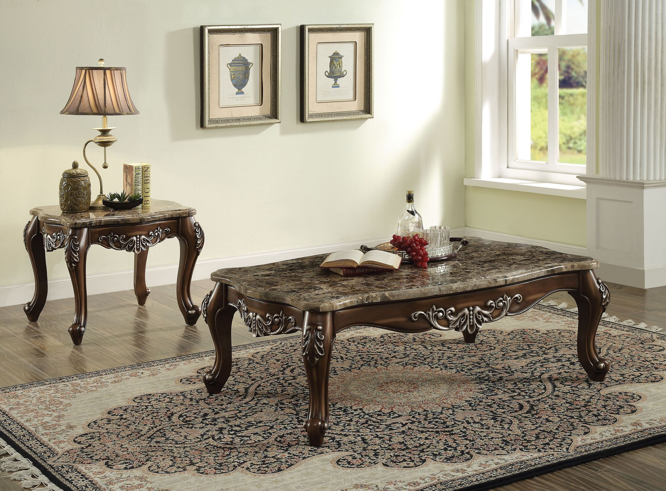 Mccloud 3 Piece Coffee Table Set