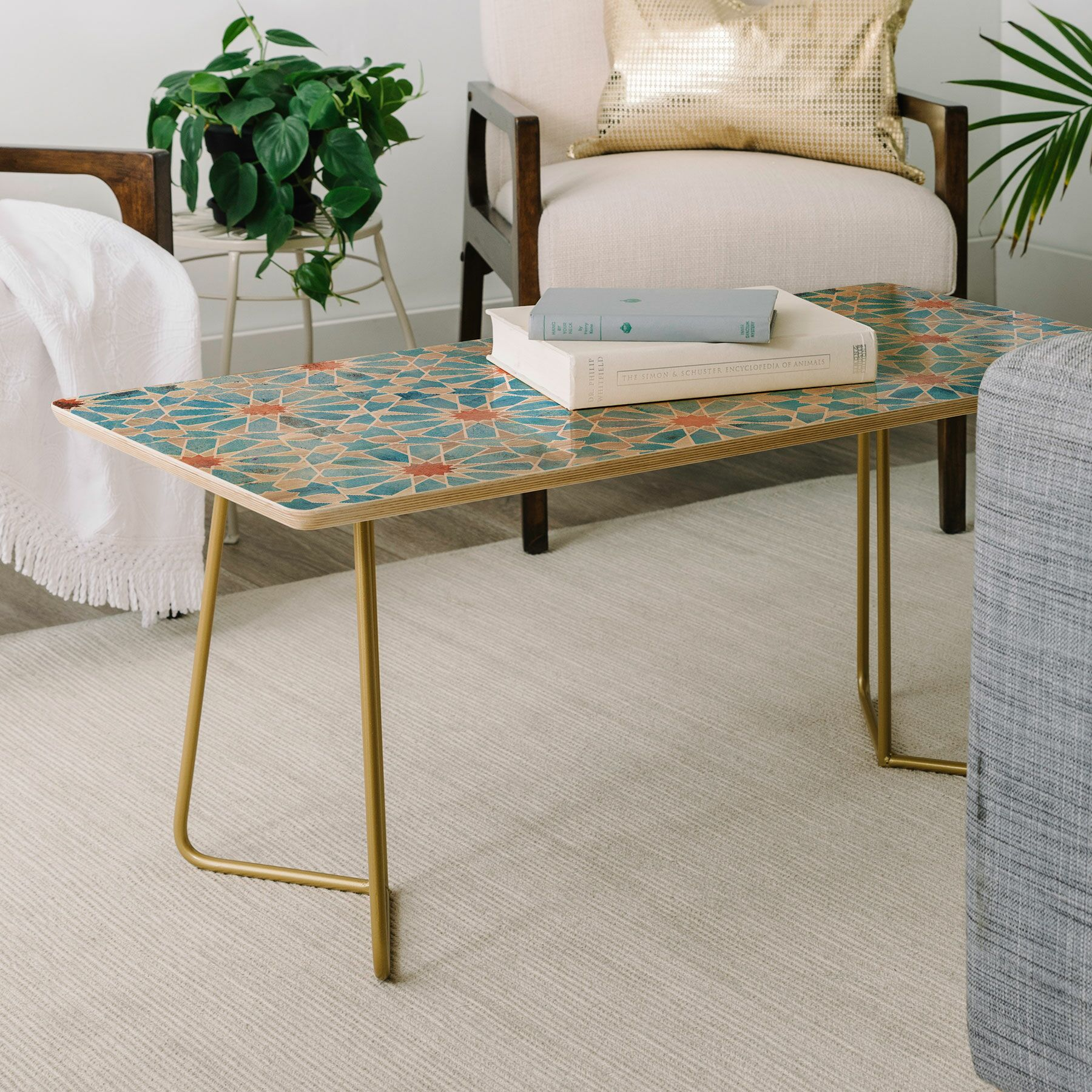 Schatzi Hara Tiles Coffee Table