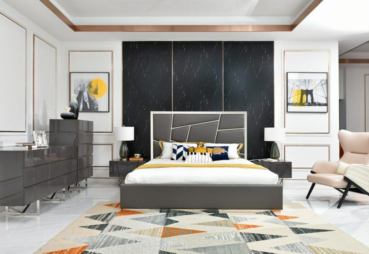Marisol Modern Upholstered Platform Bed Size: Queen