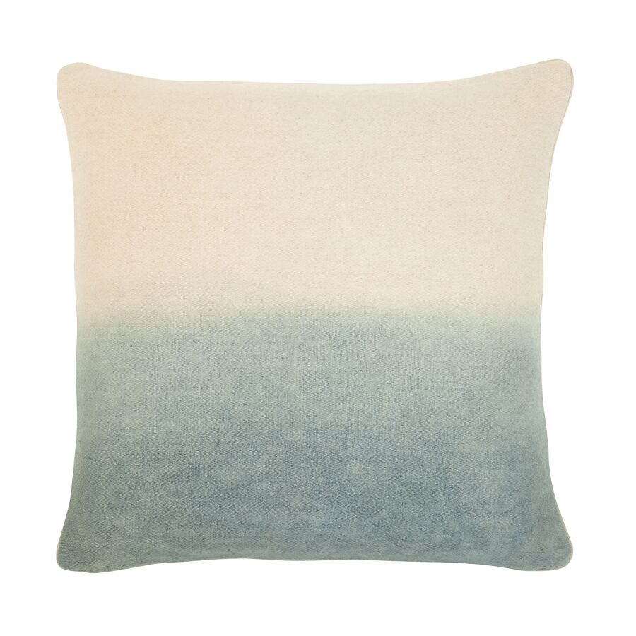 Jenkins Ombre Throw Pillow Color: Gray