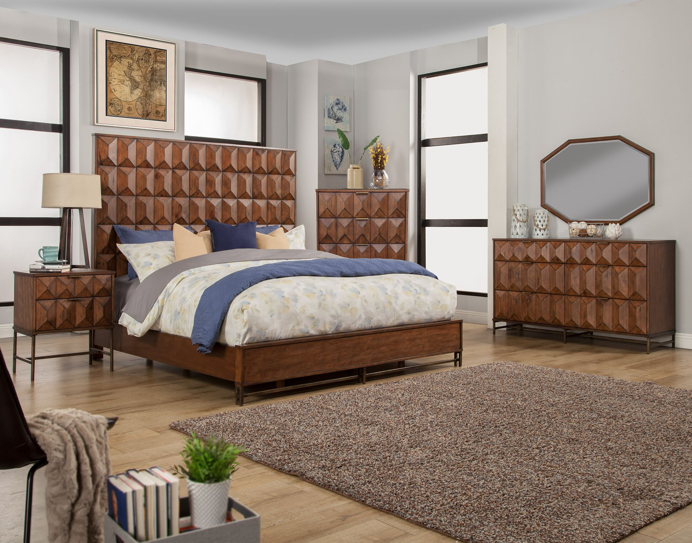 Braedon Panel Configurable Bedroom Set