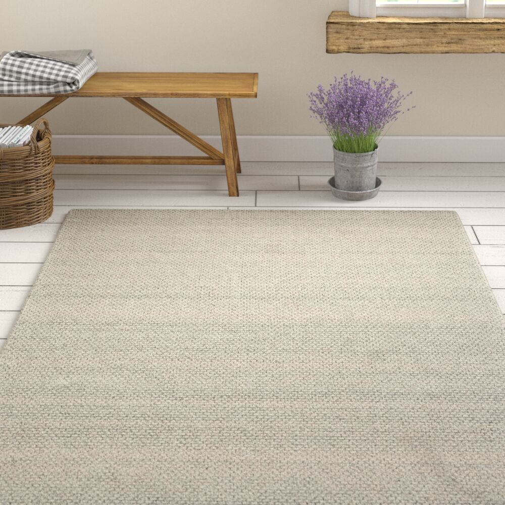 Shaniko Hand Tufted Gray Area Rug Rug Size: Rectangle 8' x 10'