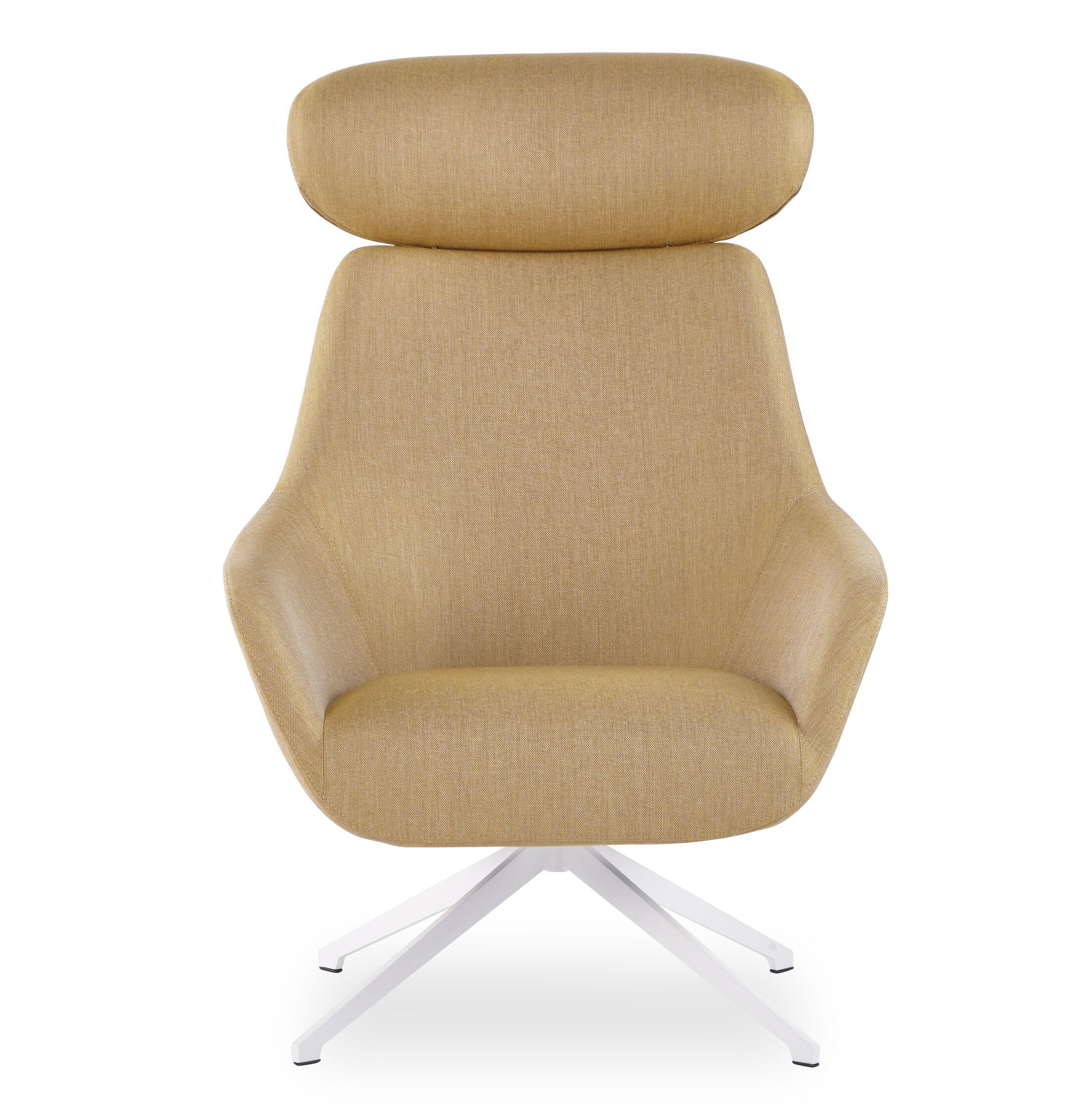 Brady Swivel Headrest Lounge Chair