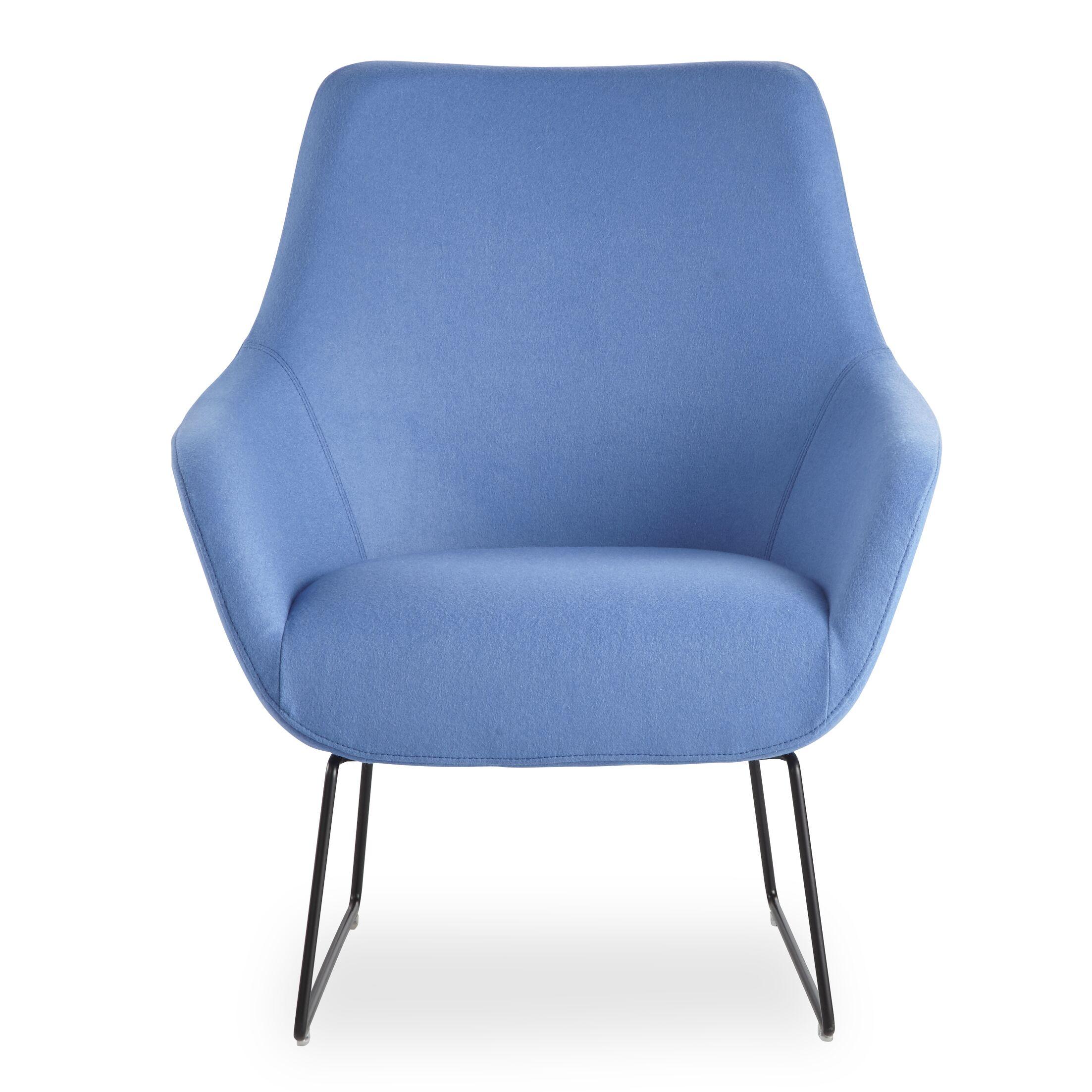 Brady Sled Base Lounge Chair