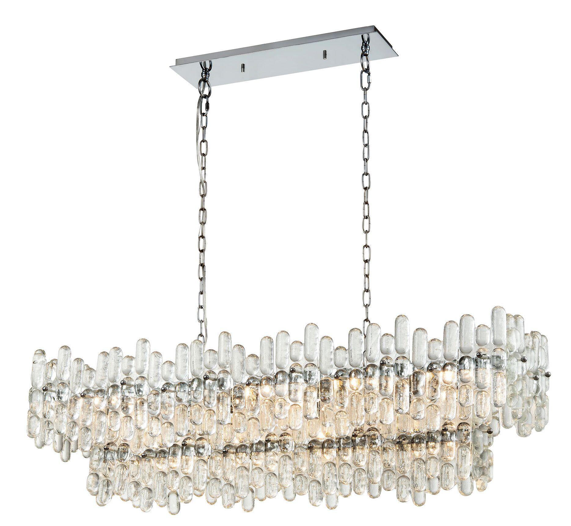 Speer 12-Light Crystal Chandelier