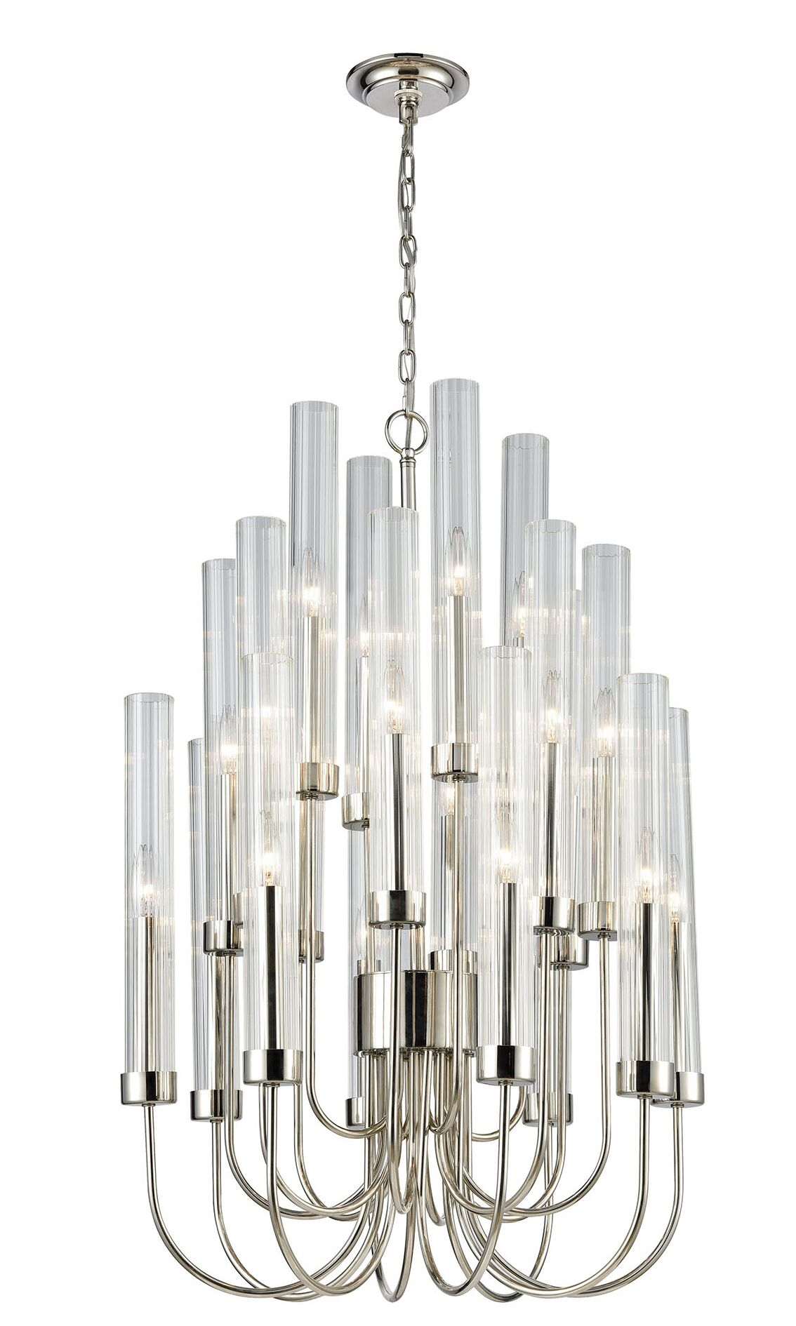 Bunch 20-Light Candle Style Chandelier
